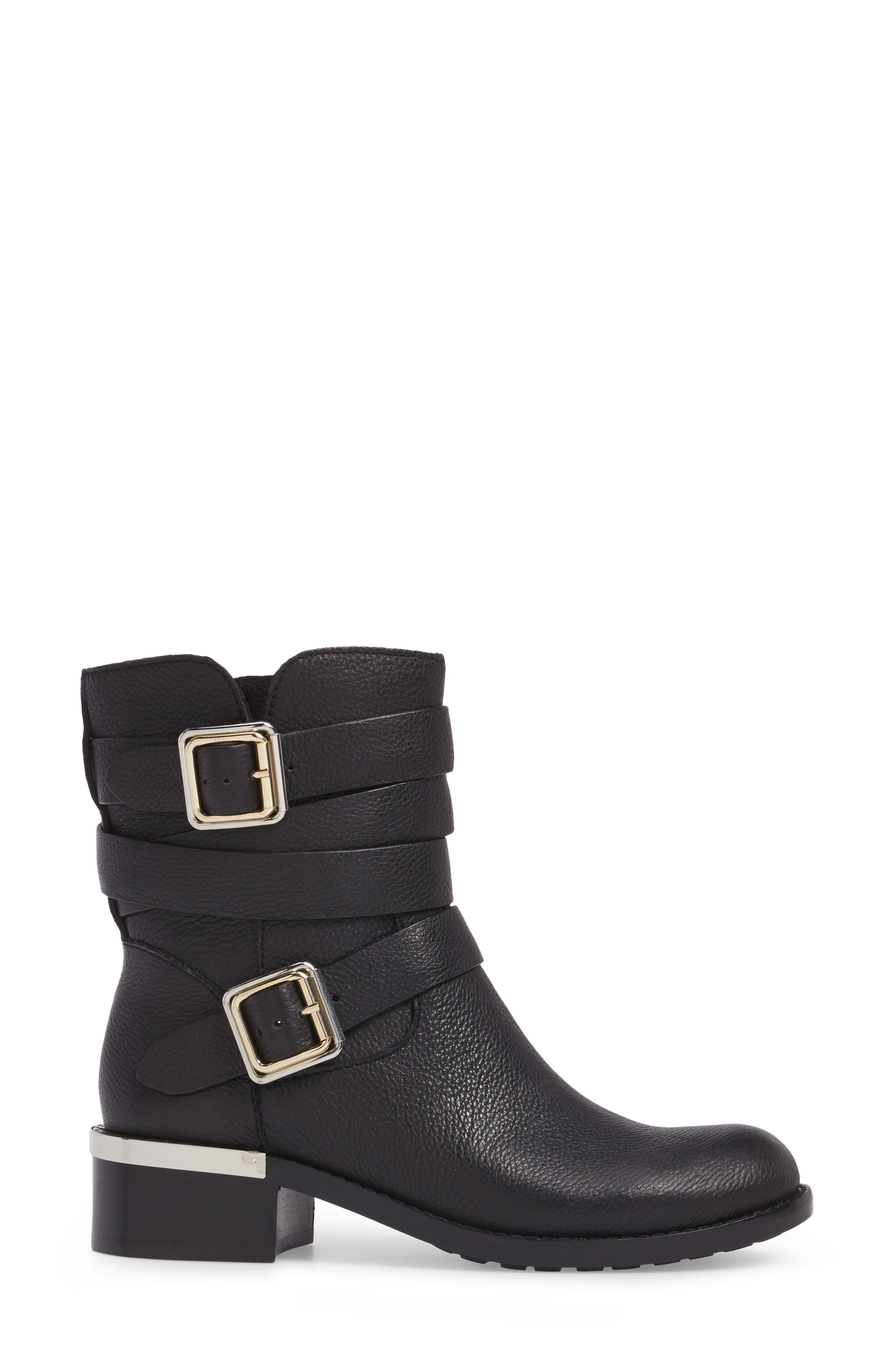 Webey Boot,                             Alternate thumbnail 3, color,                             Black Leather