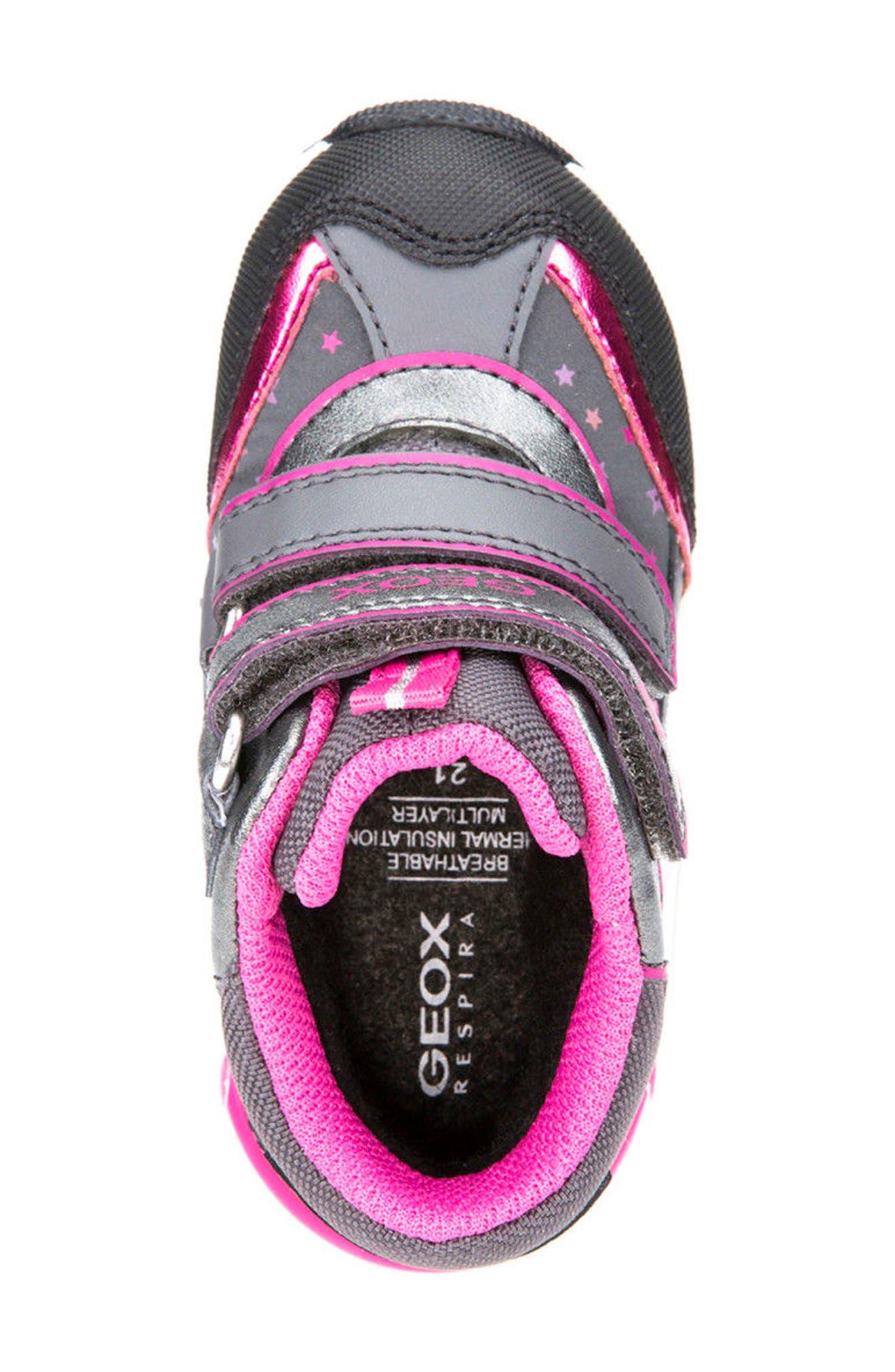 Alternate Image 5  - Geox Gulp ABX Waterproof Star Sneaker Boot (Walker & Toddler)