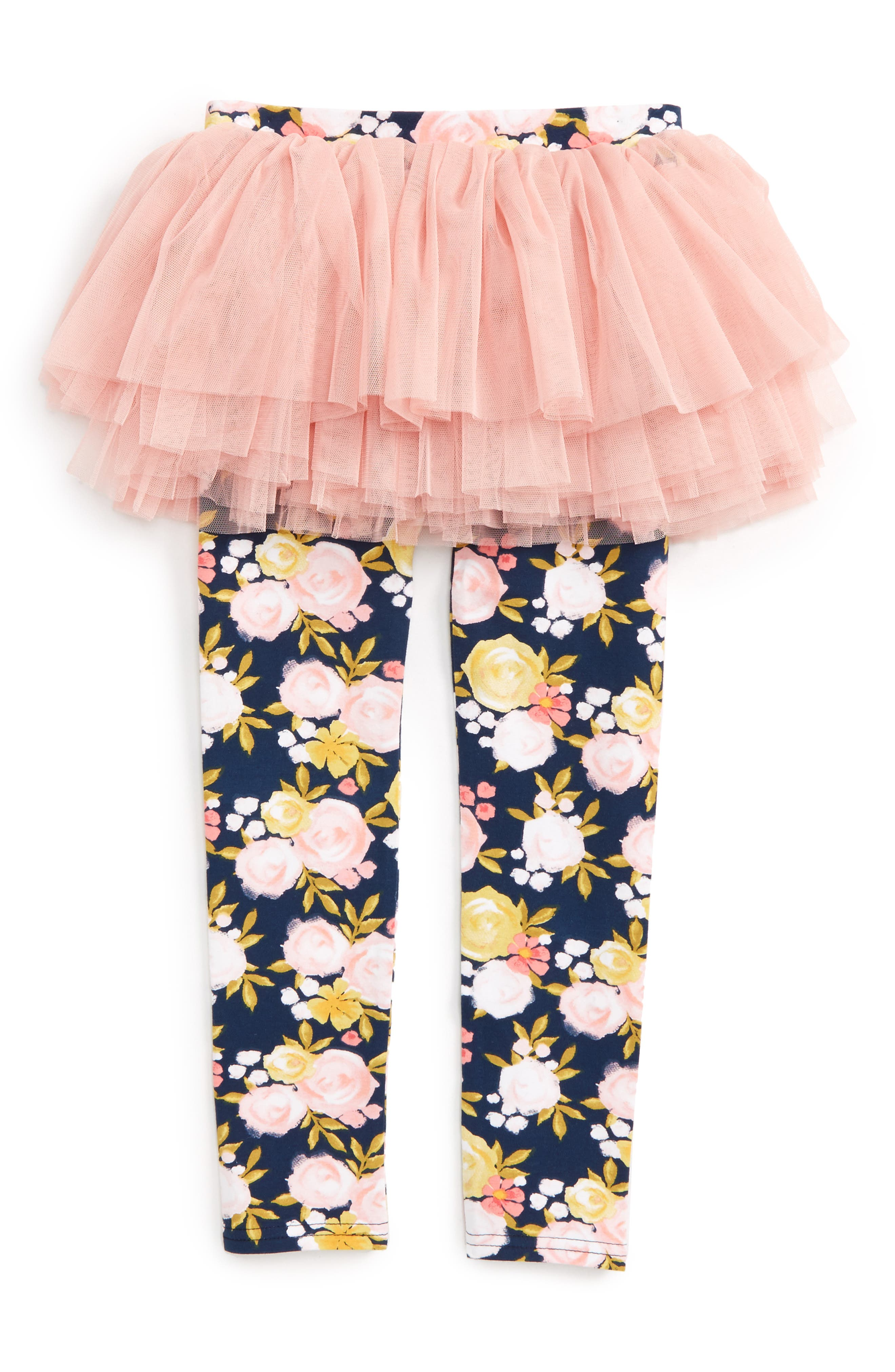 ROCK YOUR BABY Painted Garden Skirted Tights