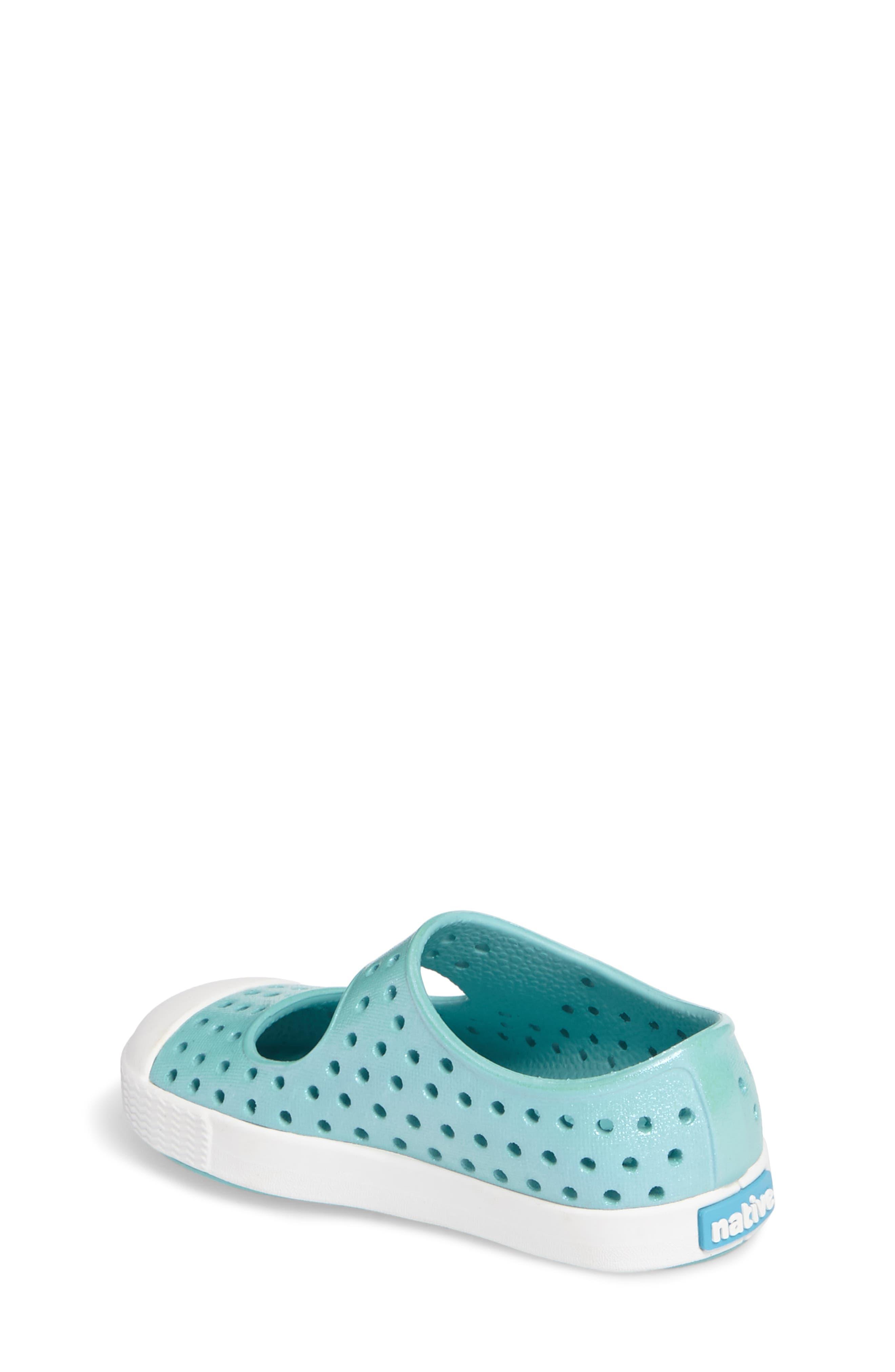 Alternate Image 2  - Native Shoes Juniper Perforated Mary Jane (Baby, Walker, Toddler & Little Kid)