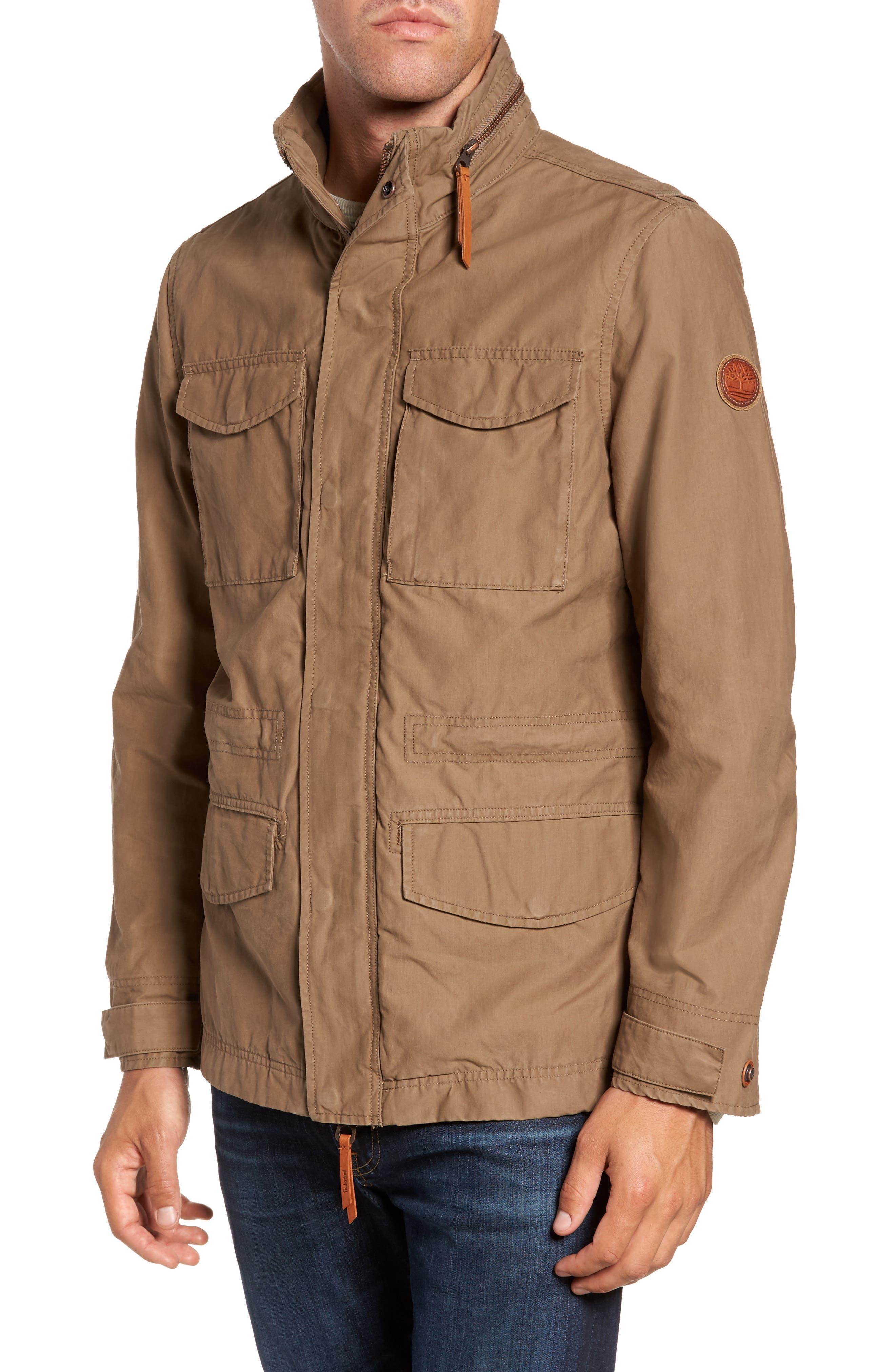 Main Image - Timberland Mt. Davis M65 Waxed Canvas Jacket