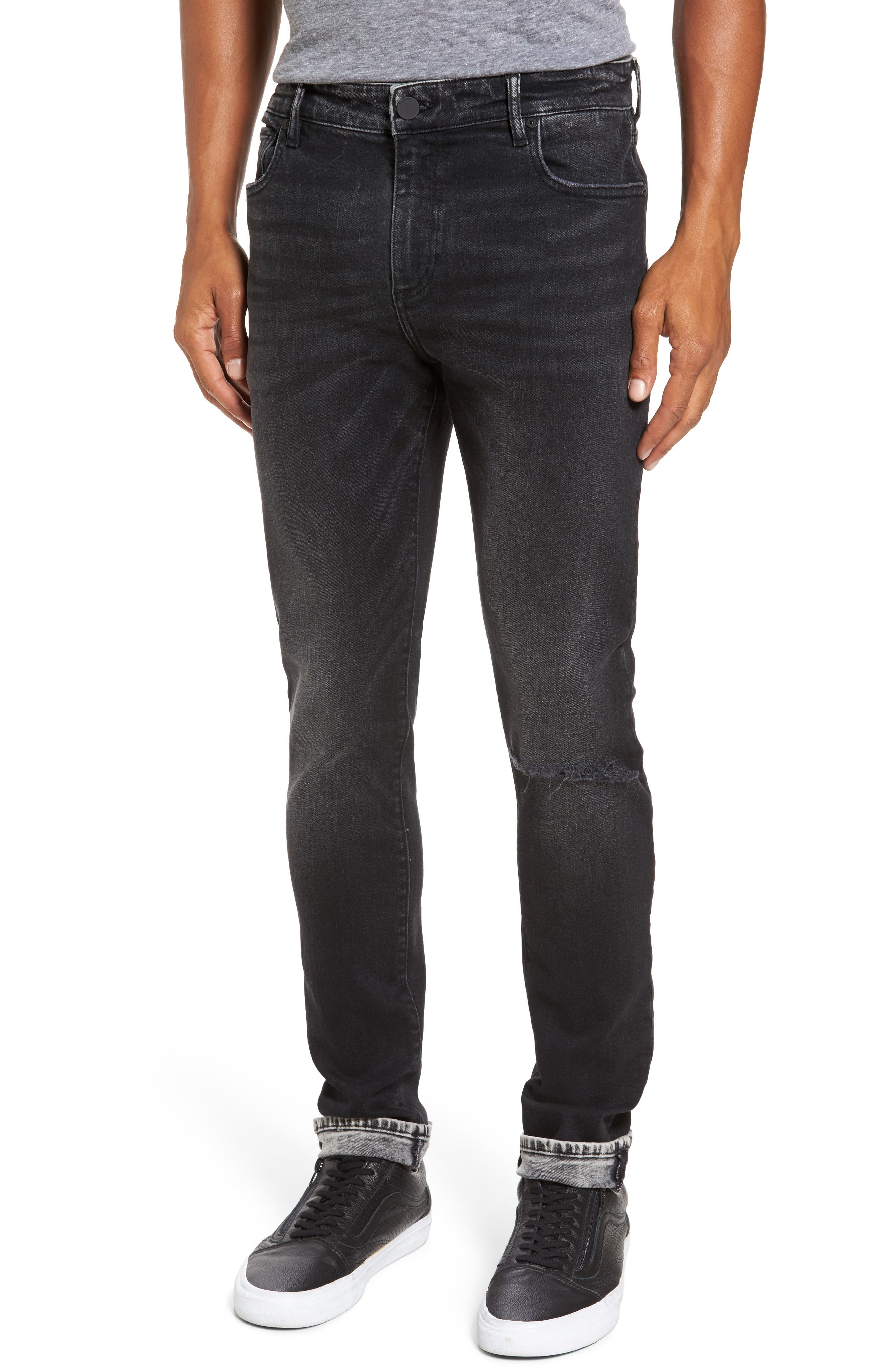 Hunter Skinny Jeans,                         Main,                         color, Argon