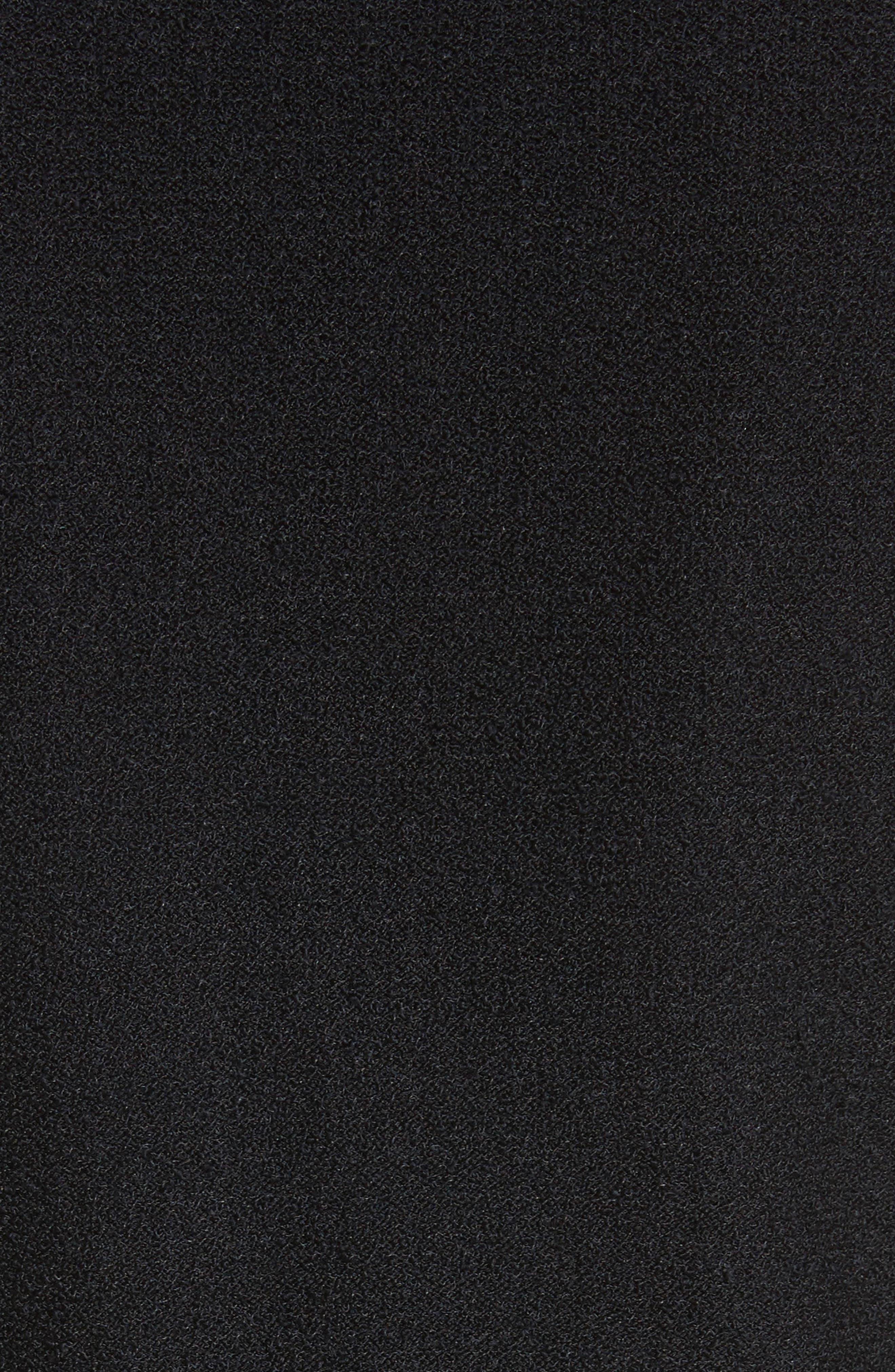 Bouclé Knit Jacket,                             Alternate thumbnail 6, color,                             Caviar