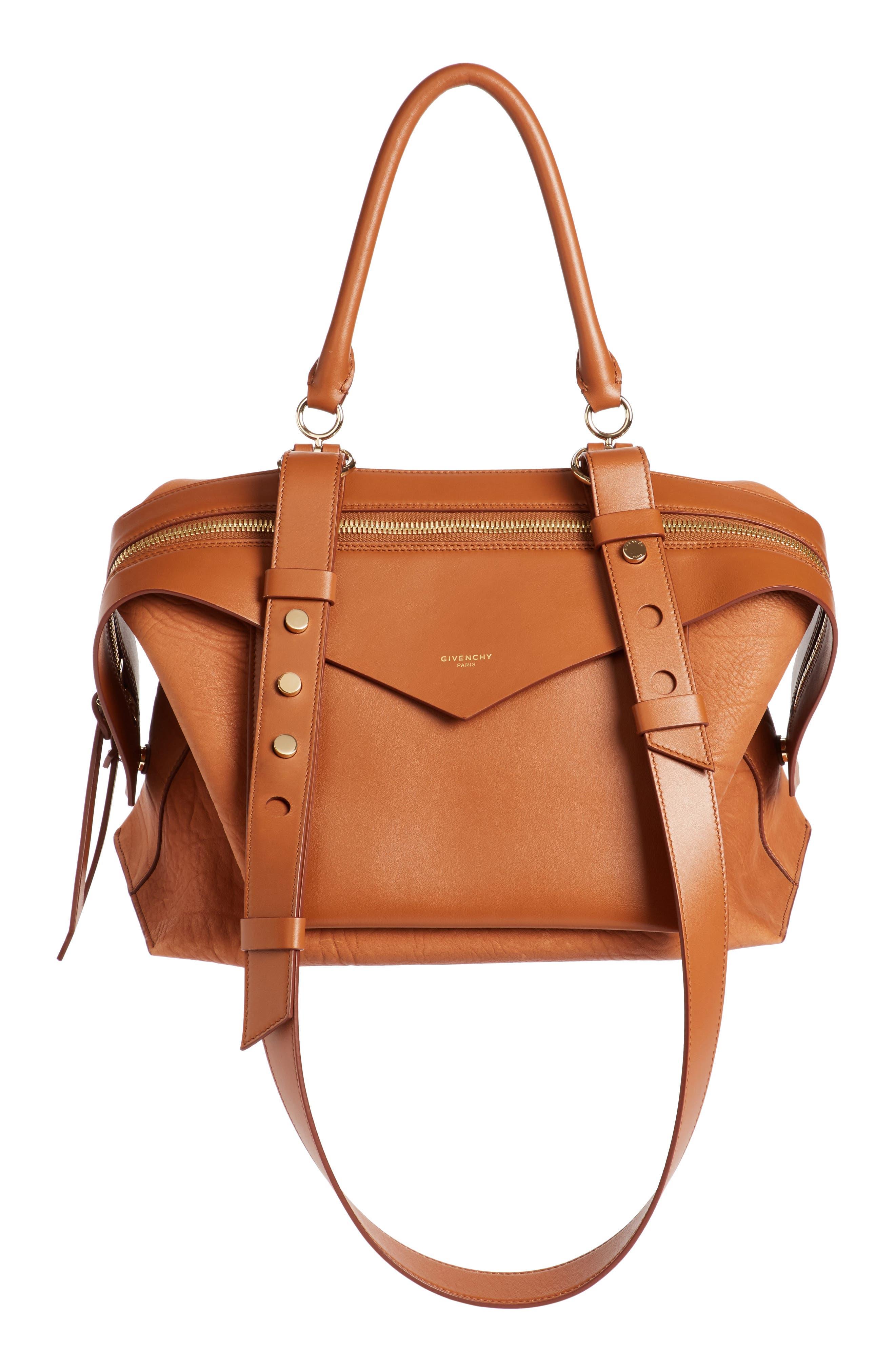 Alternate Image 1 Selected - Givenchy Medium Sway Leather Satchel