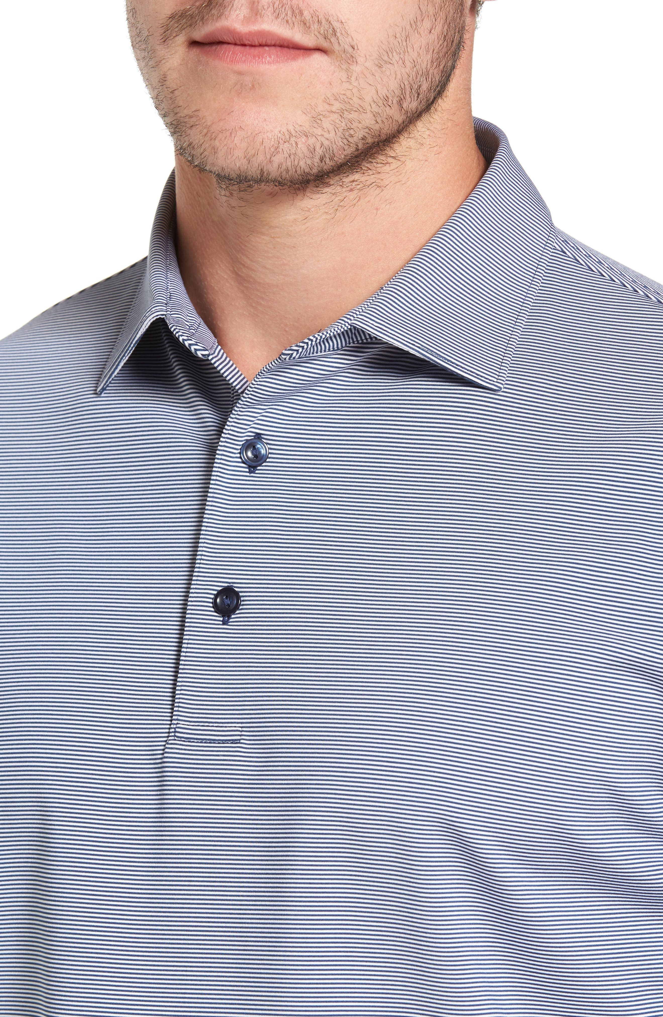 Alternate Image 4  - Peter Millar Sean Jubilee Stripe Jersey Polo