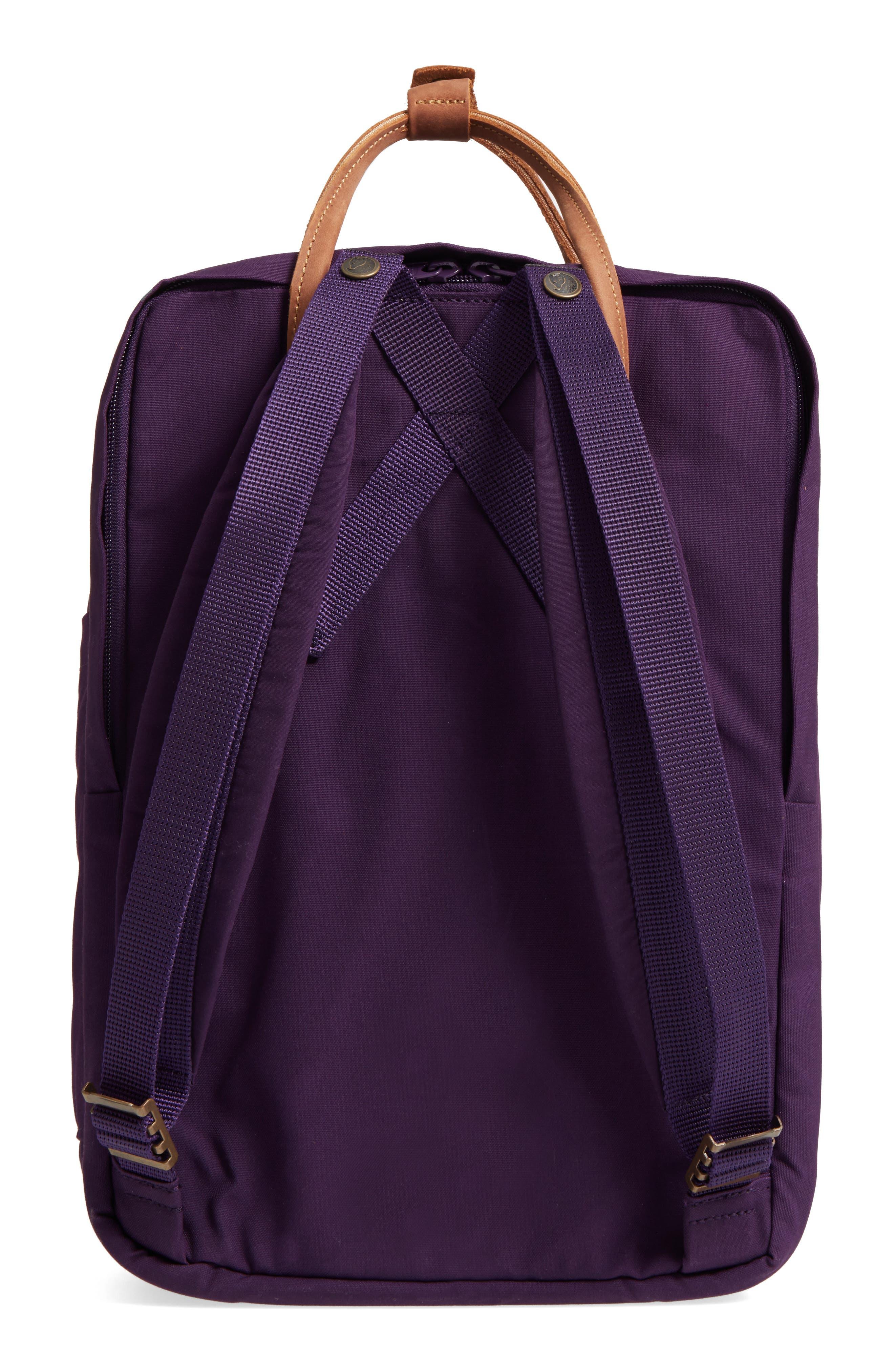 "Kånken No. 2 15"" Laptop Backpack,                             Alternate thumbnail 2, color,                             Alpine Purple"