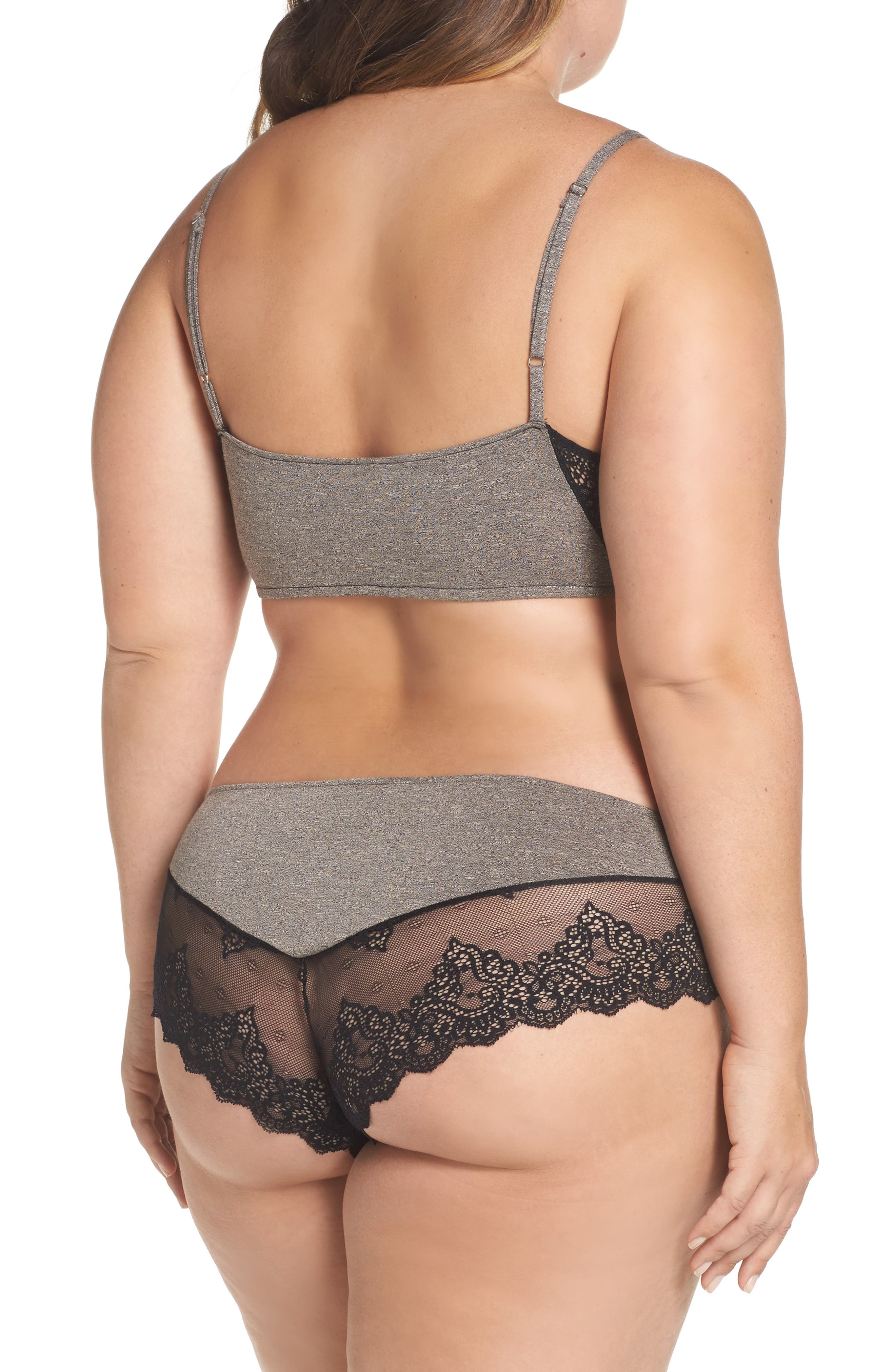 Alternate Image 6  - Only Hearts So Fine Hipster Panties (Plus Size)