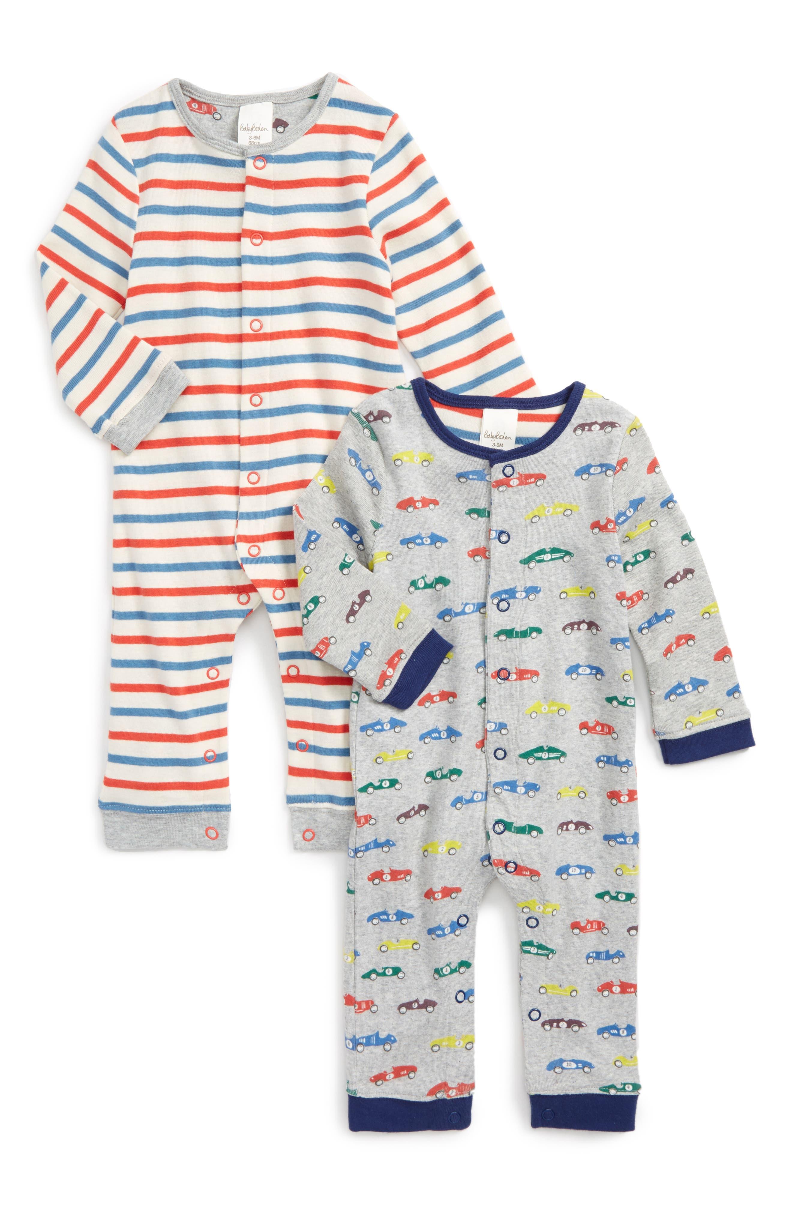 Mini Boden Romper Twin Pack (Baby)
