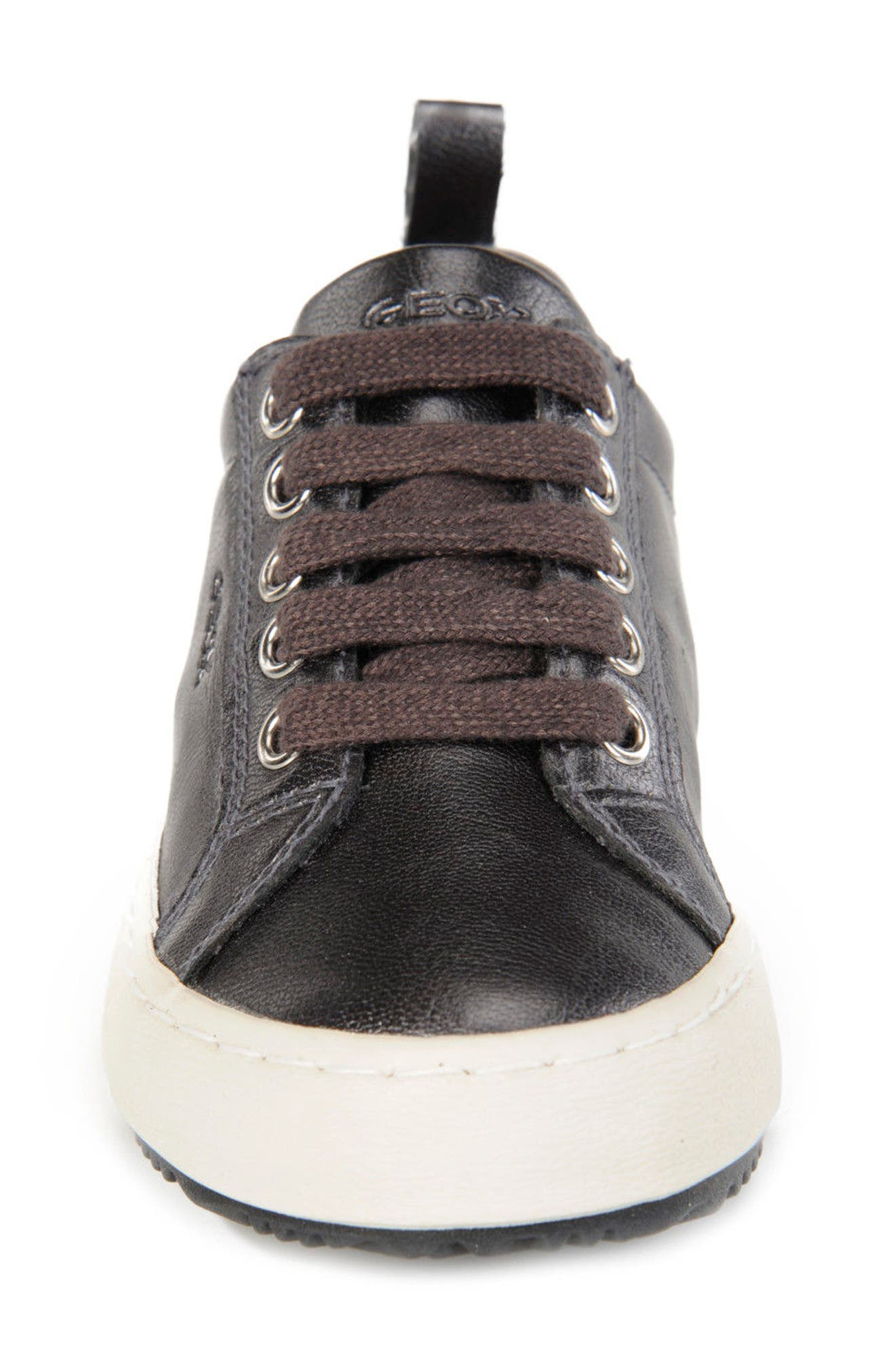 Alternate Image 4  - Geox Kalispera Girl Dotted Low-Top Sneaker (Toddler, Little Kid & Big Kid)