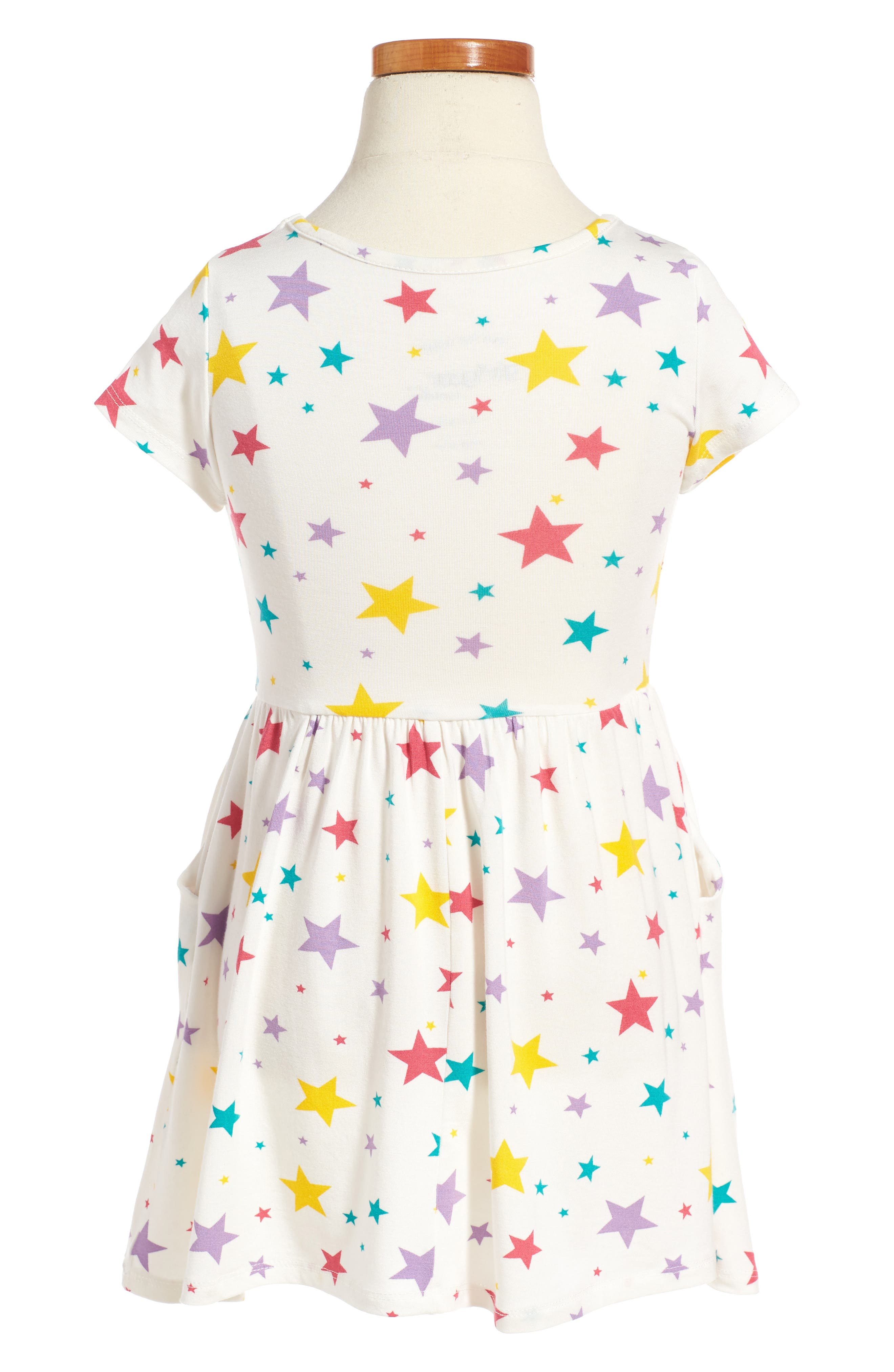 Alternate Image 2  - Peek Candice Star Dress (Toddler Birls, Little Girls & Big Girls)