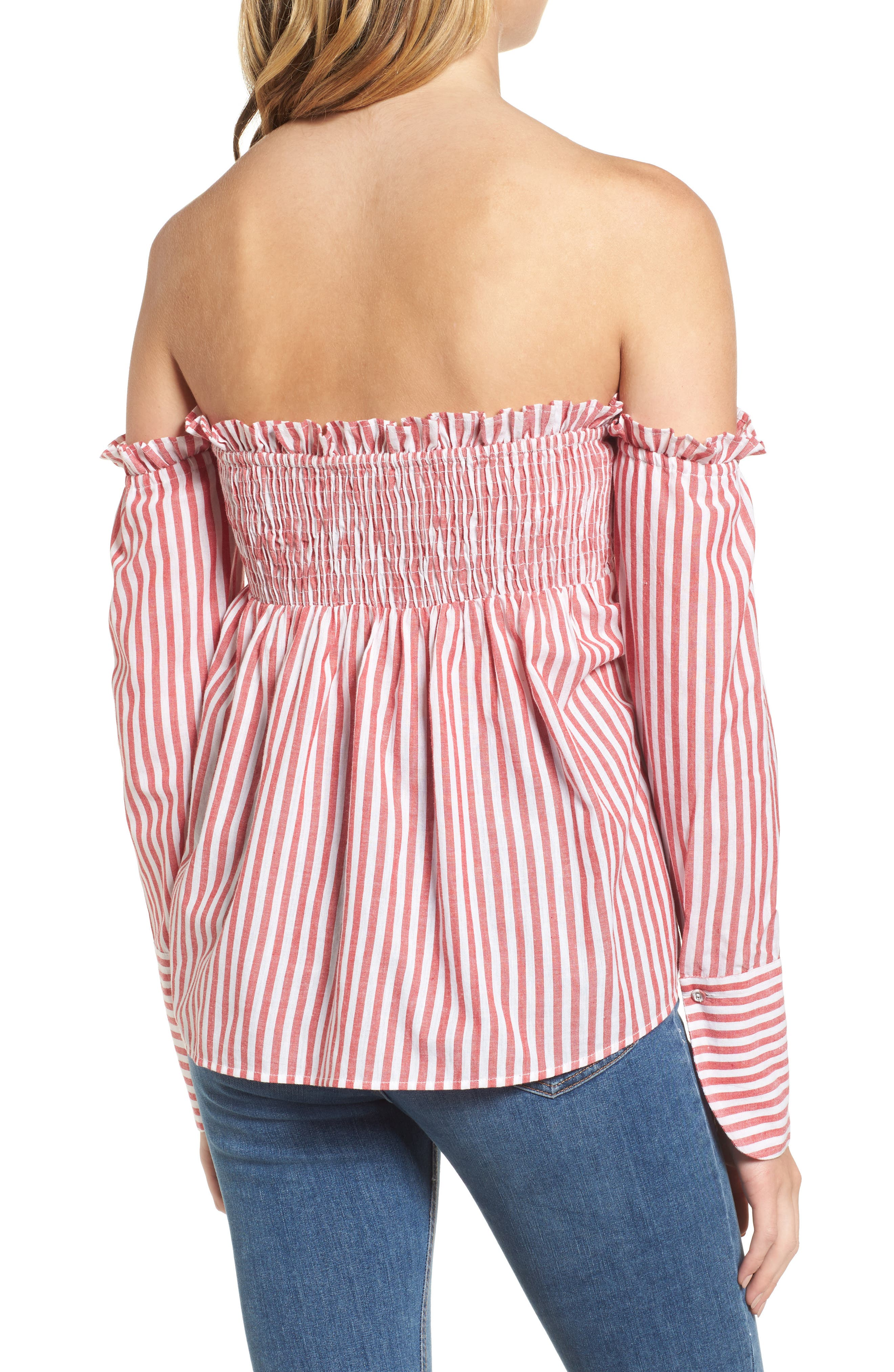 Alternate Image 2  - L'Academie Erin Off the Shoulder Top
