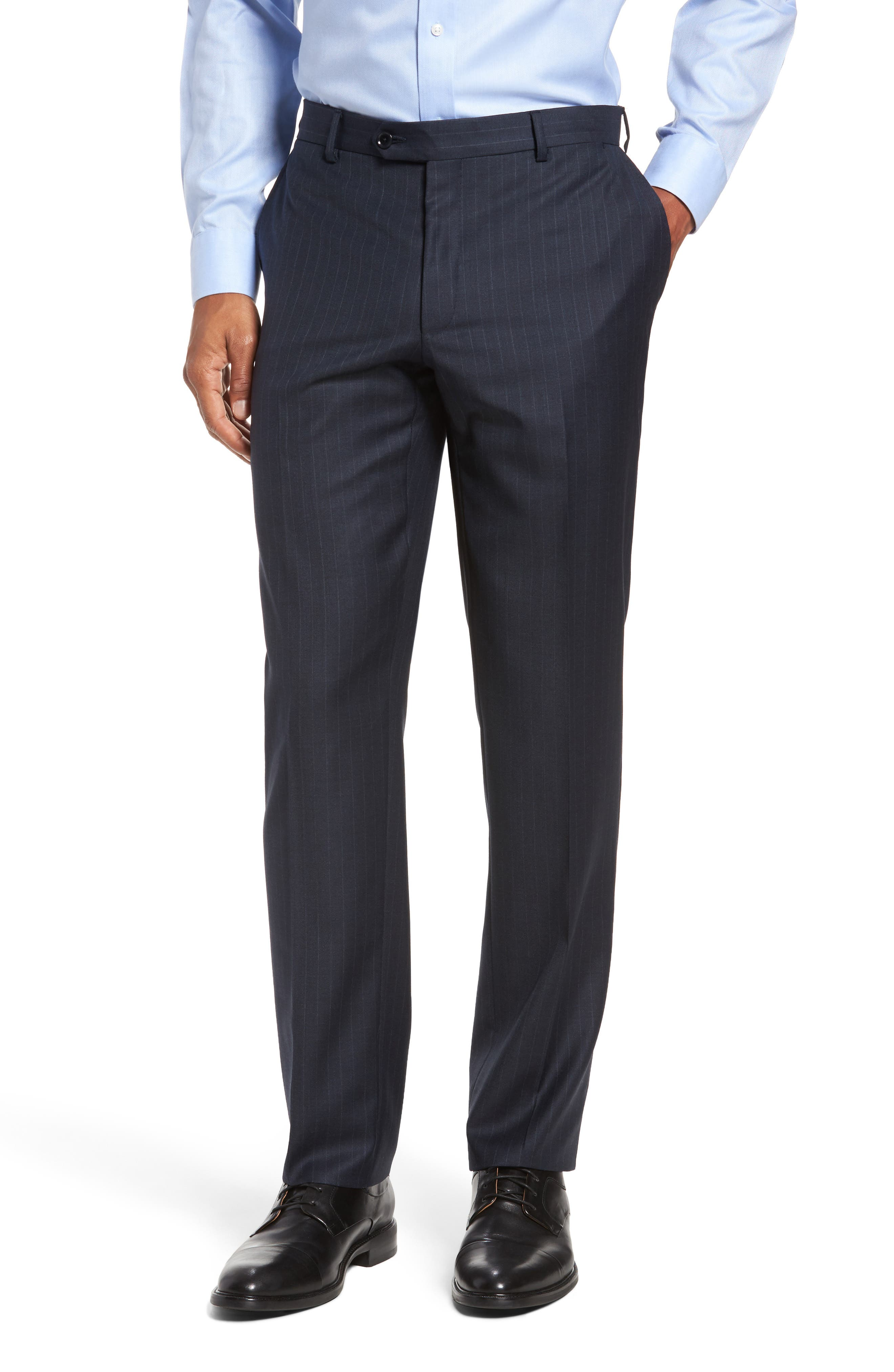Alternate Image 6  - Pal Zileri Classic Fit Banker Stripe Wool Suit
