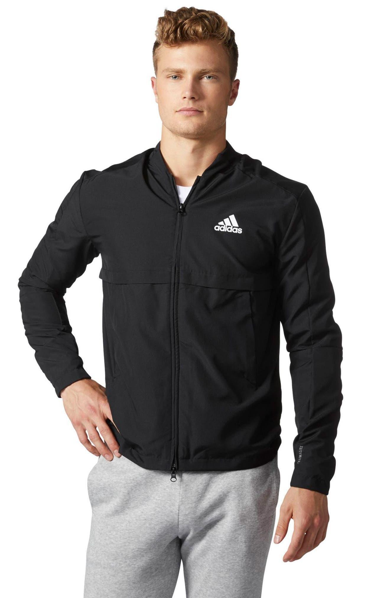 Alternate Image 5  - adidas Squad ID Woven Bomber Jacket