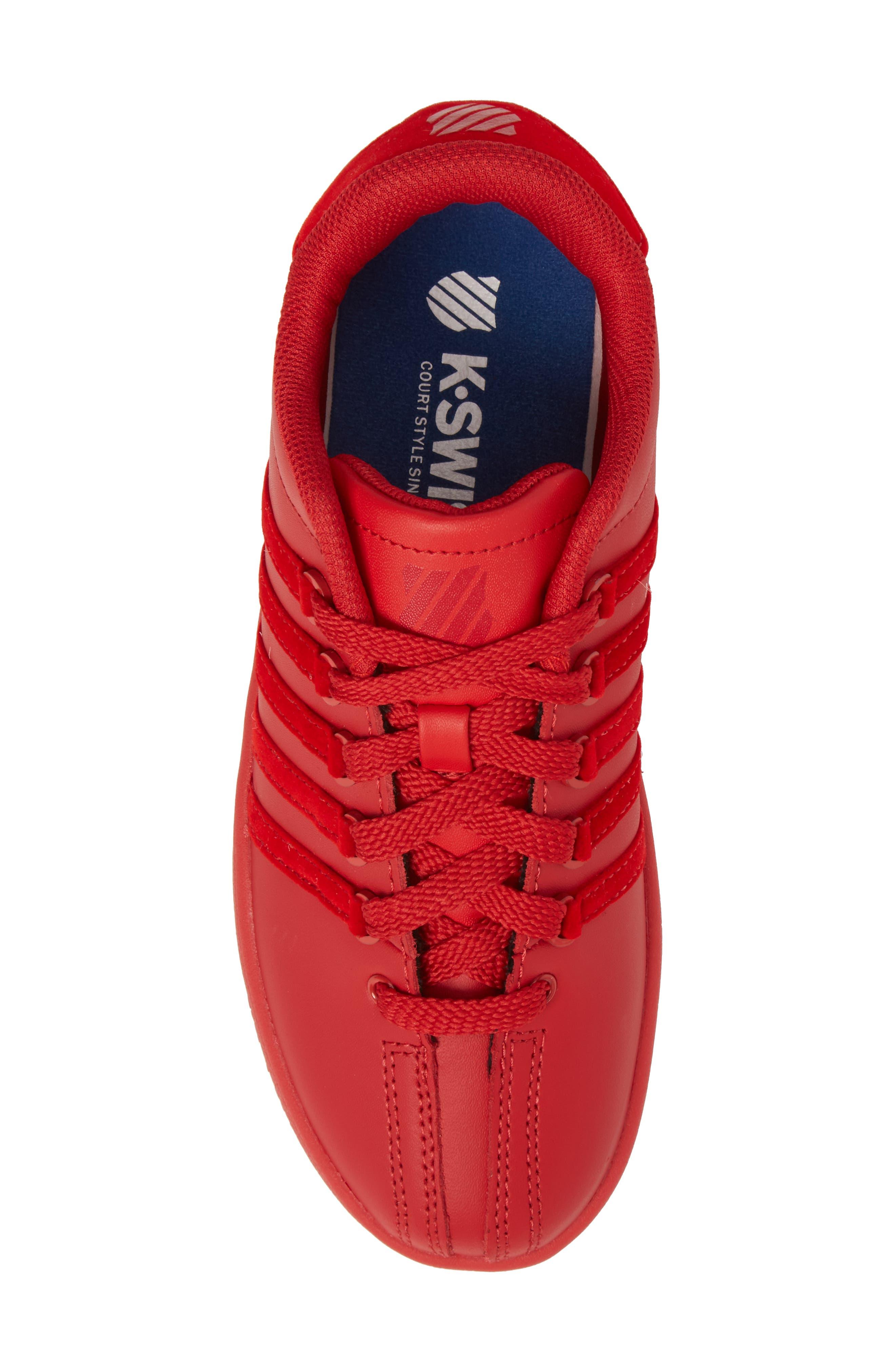 Classic VN Sneaker,                             Alternate thumbnail 5, color,                             Ribbon Red