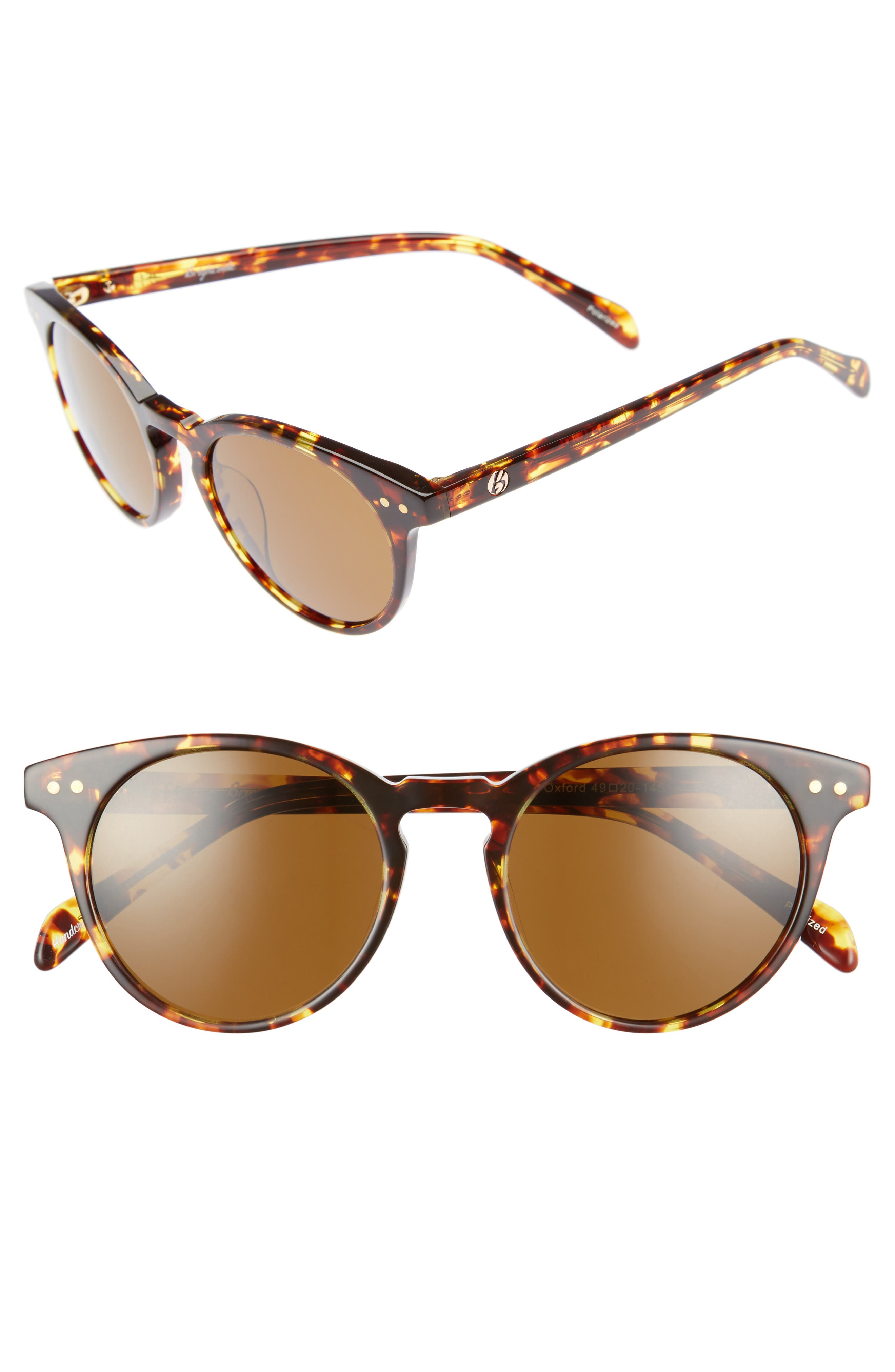 Main Image - Brightside Oxford 49mm Polarized Sunglasses