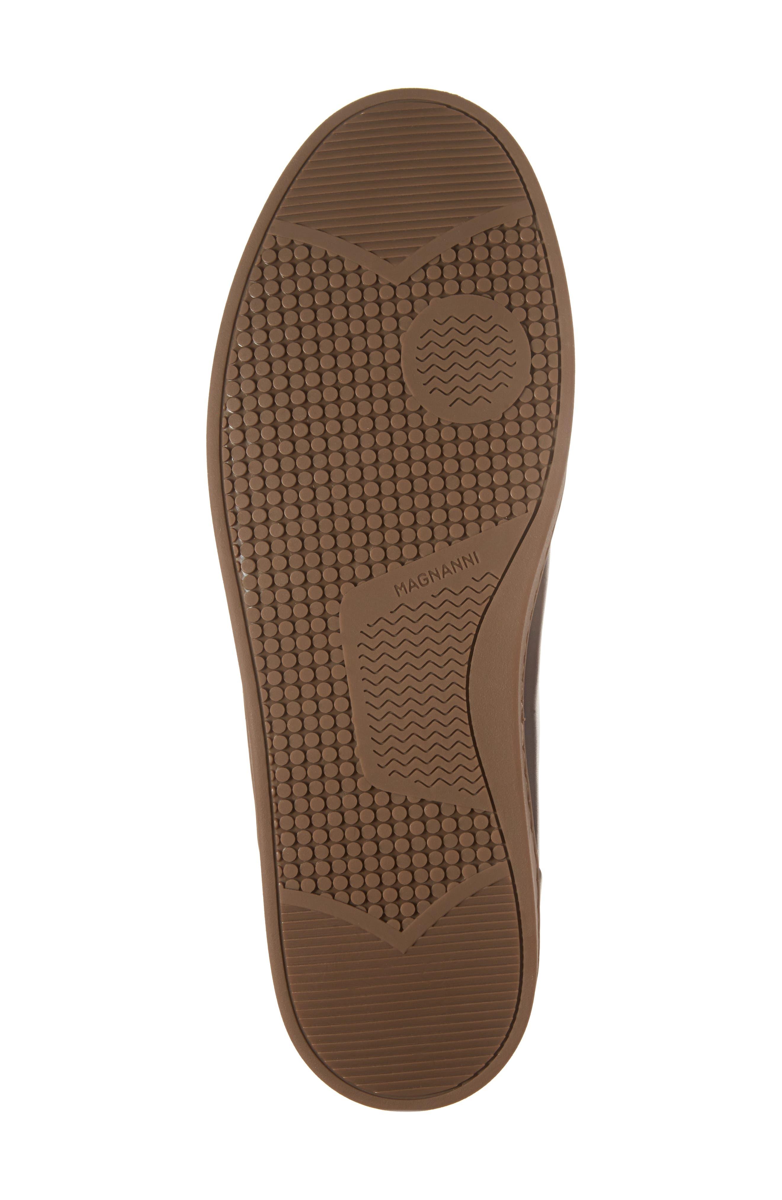 Carmel Sneaker,                             Alternate thumbnail 6, color,                             Mid Brown Leather