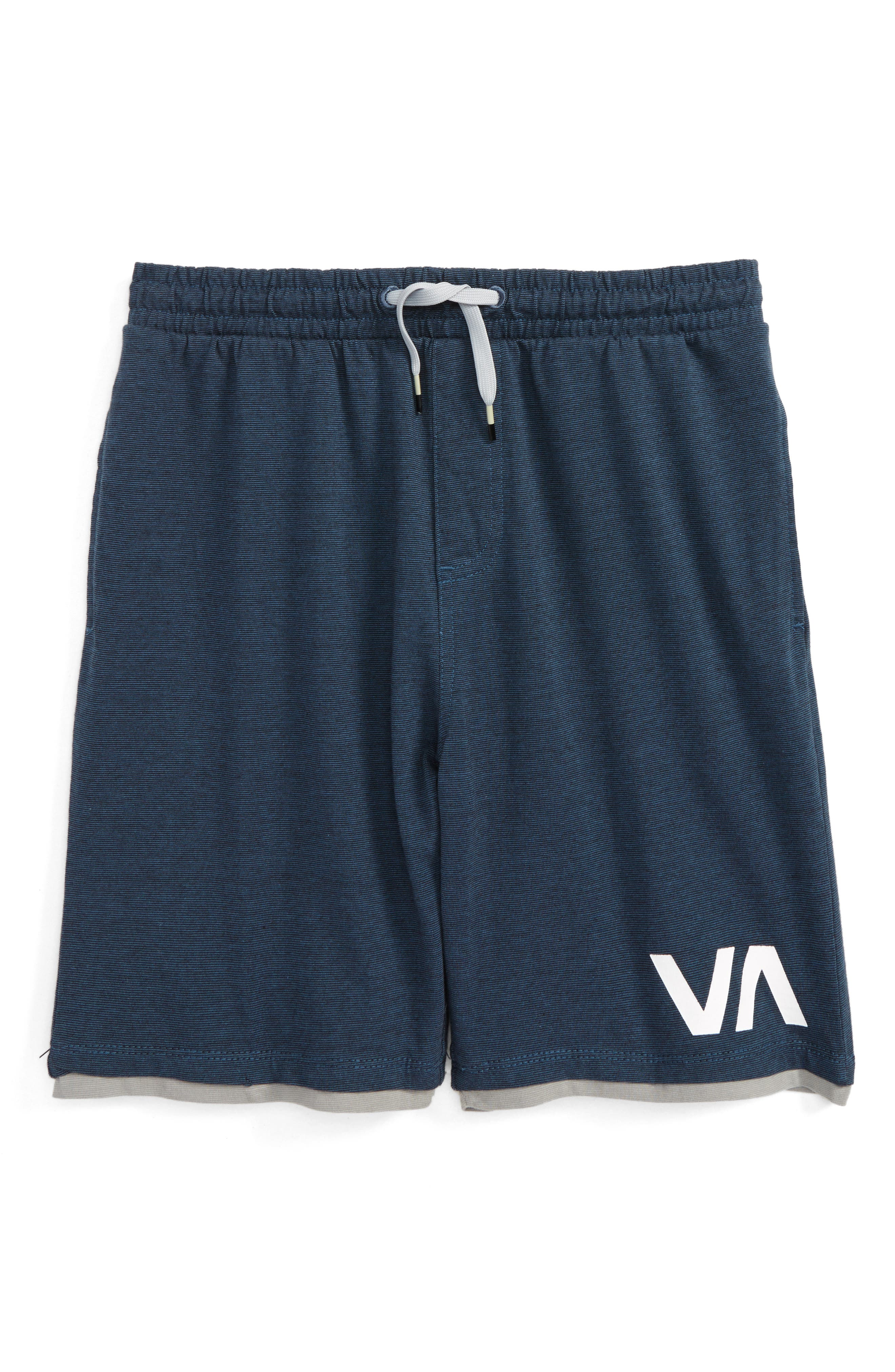 Layers II Shorts,                         Main,                         color, Desert Blue