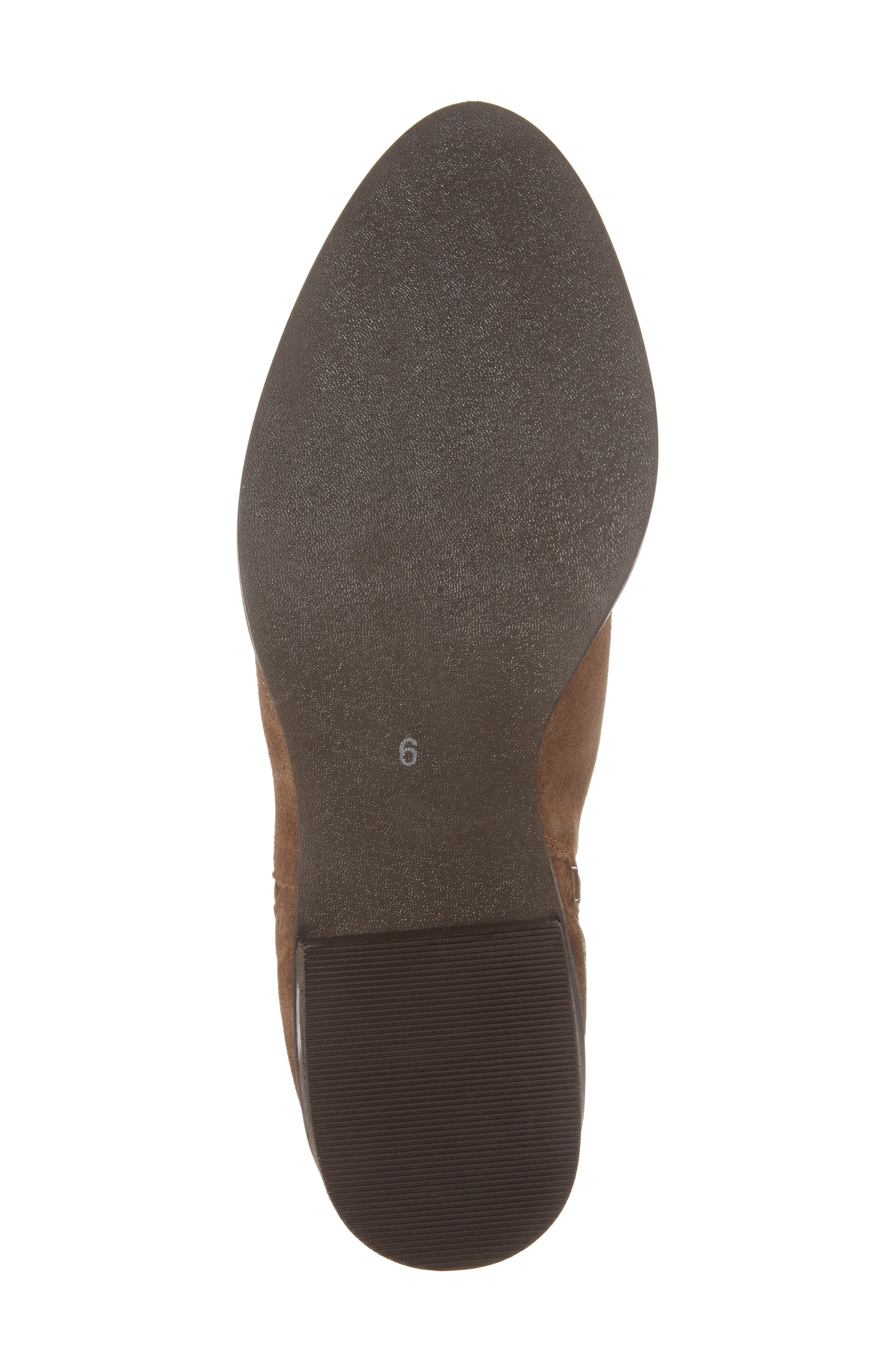 The Bridge Bootie,                             Alternate thumbnail 6, color,                             Tan Suede