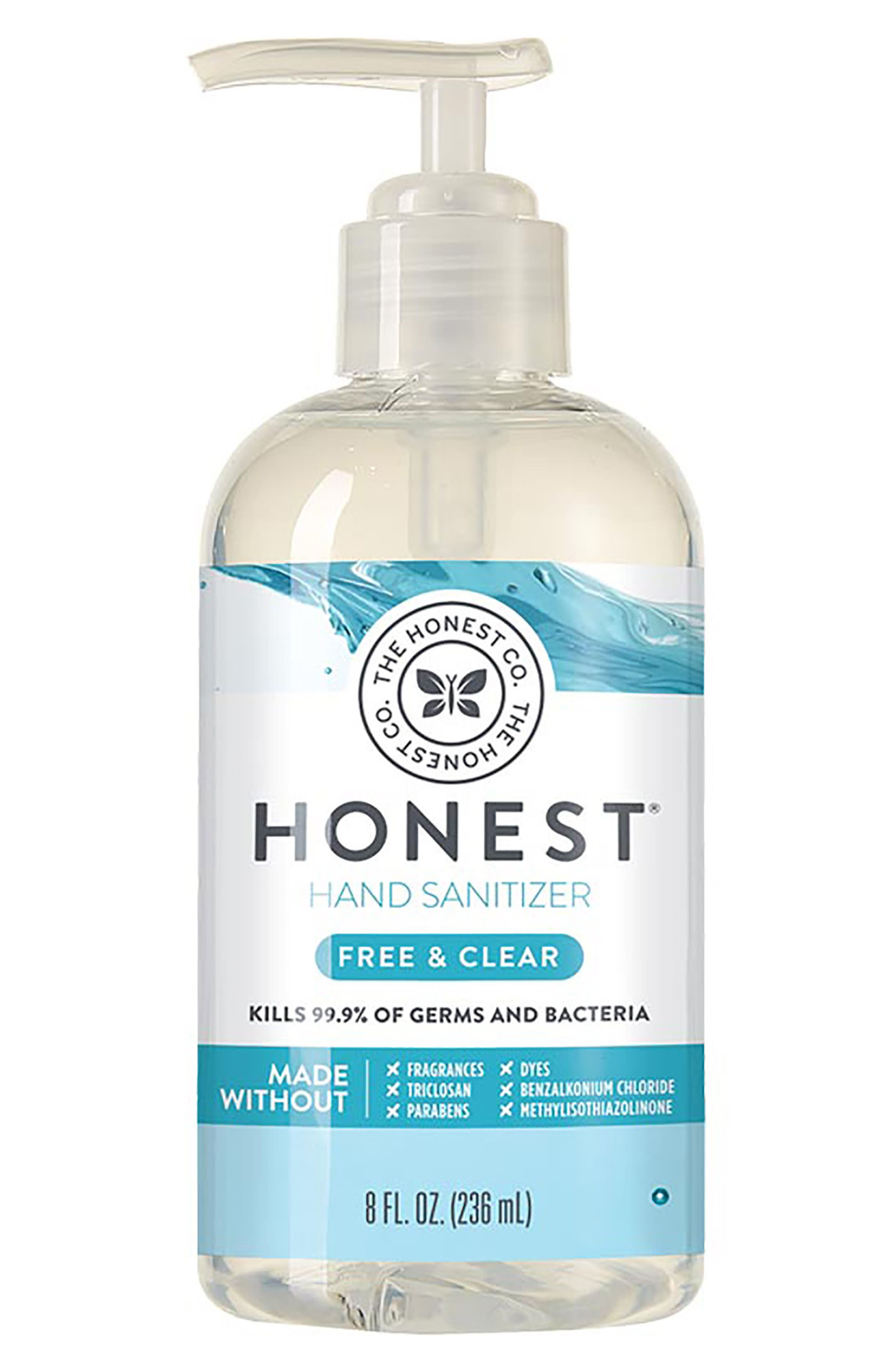 Free & Clear Hand Sanitizer Gel,                             Main thumbnail 1, color,                             Free/ Clear