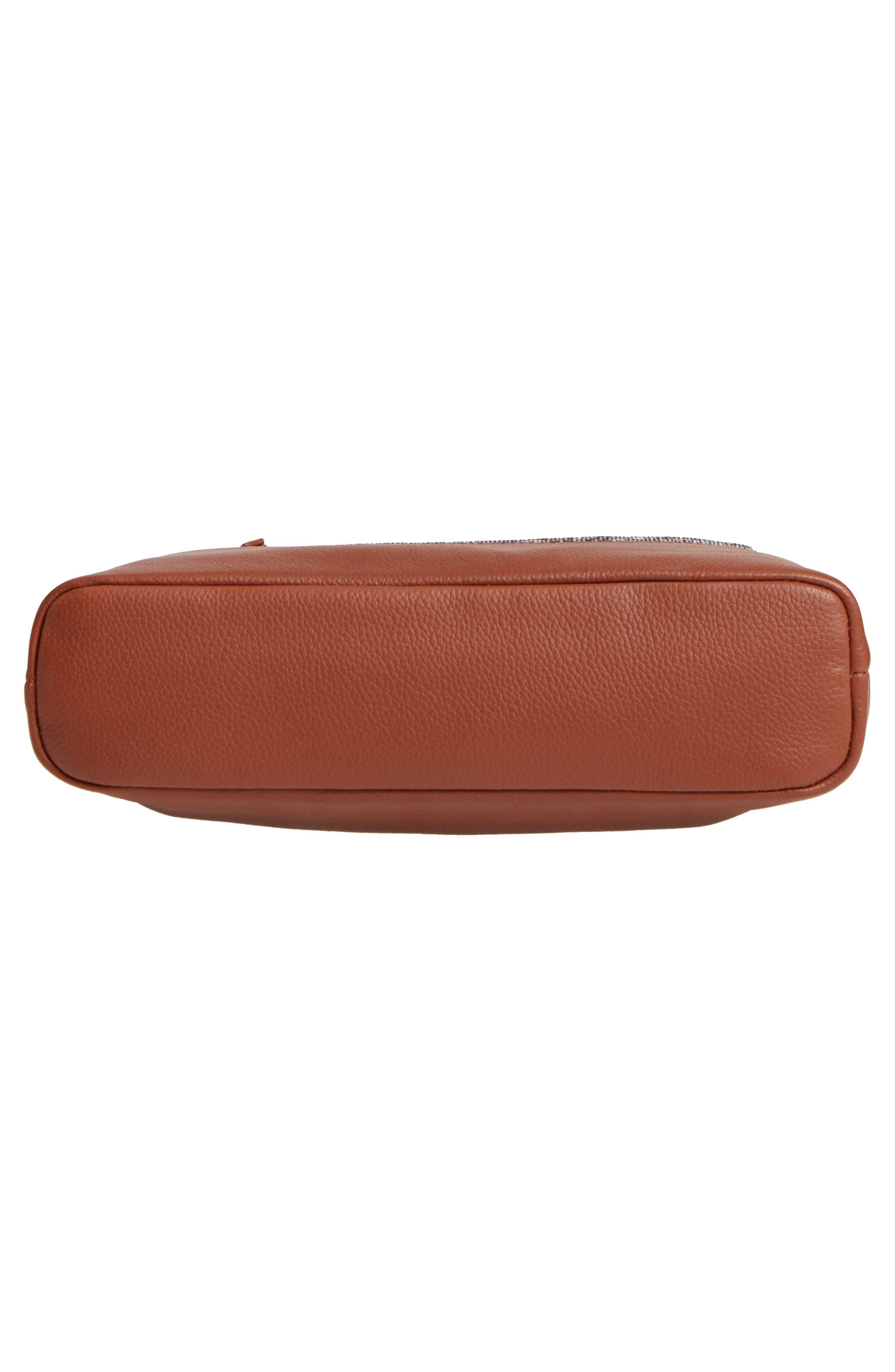 Medium Brea Crossbody Bag,                             Alternate thumbnail 4, color,                             Whiskey