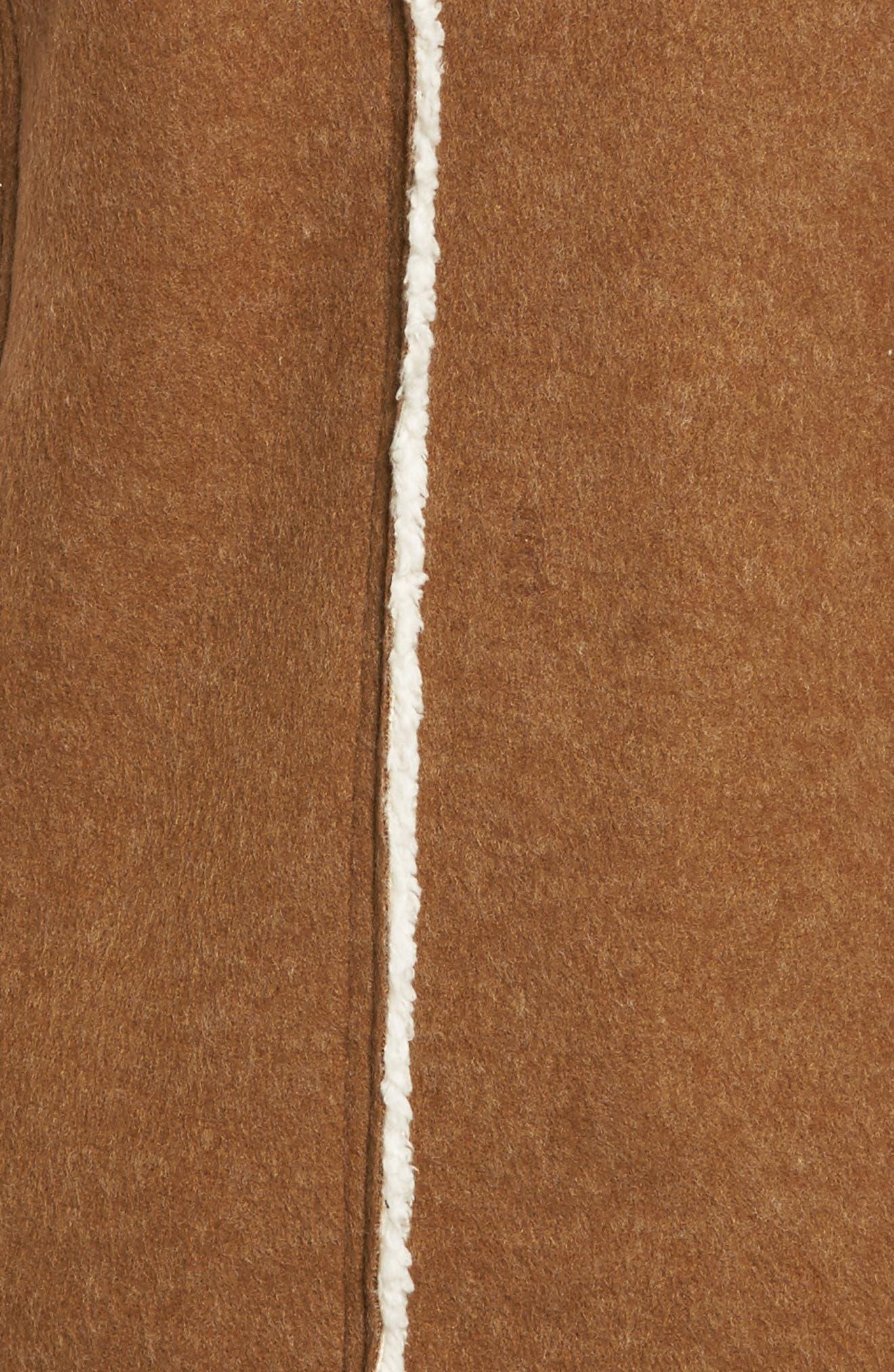 Alternate Image 5  - Dylan Flannel Faux Shearling Vest