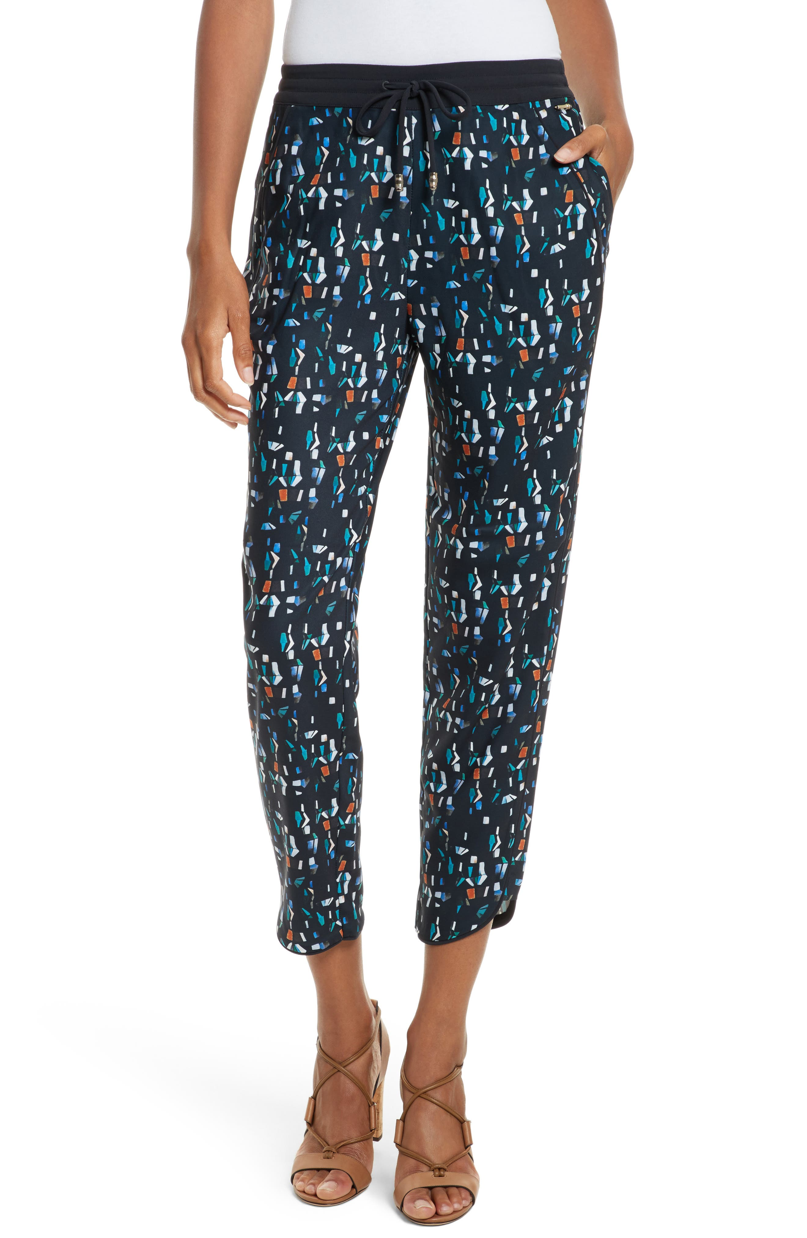 Main Image - Ted Baker London Esrig Print Jogger Pants
