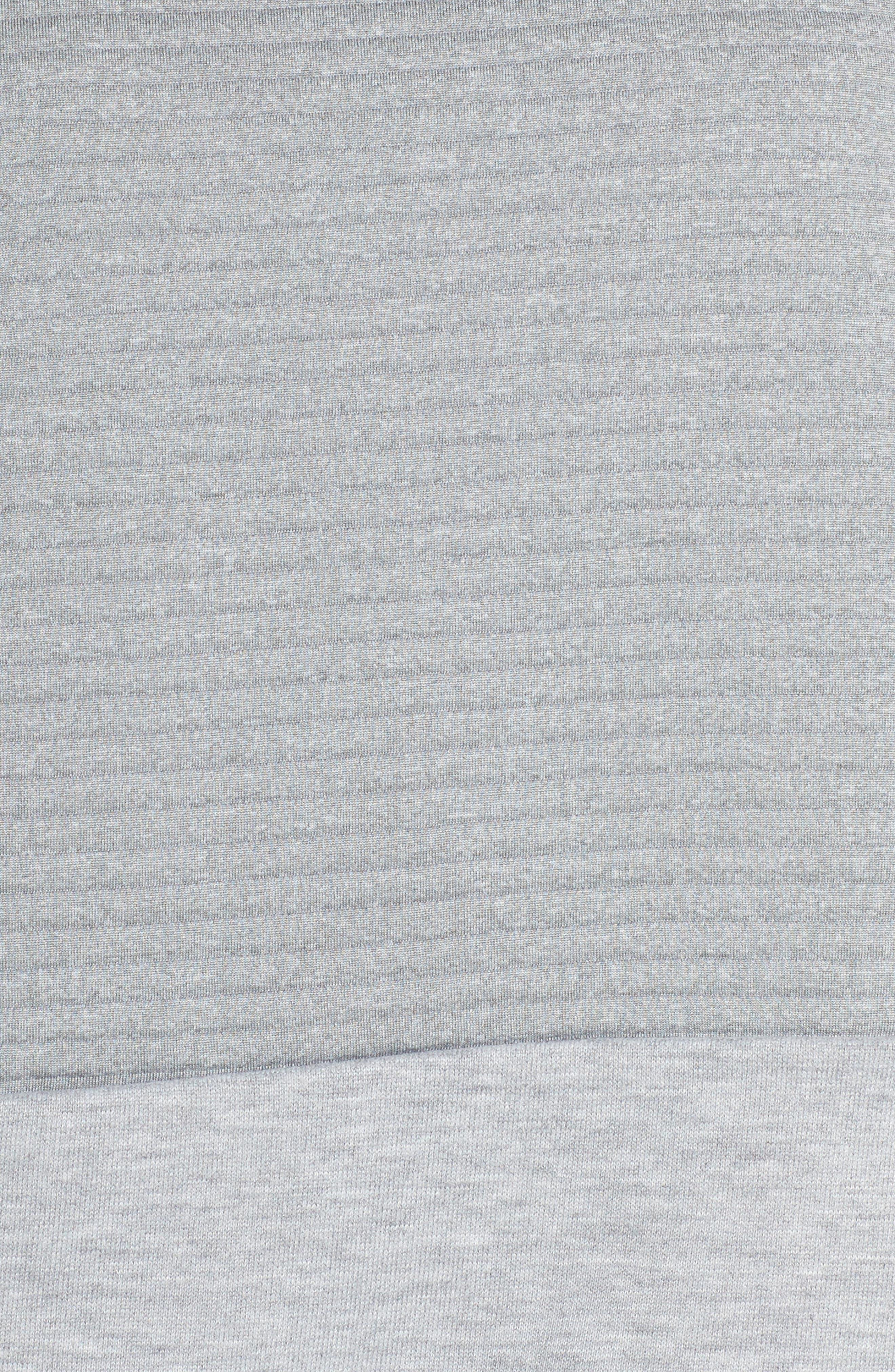 Alternate Image 5  - Nike Dry Ribbed Hoodie