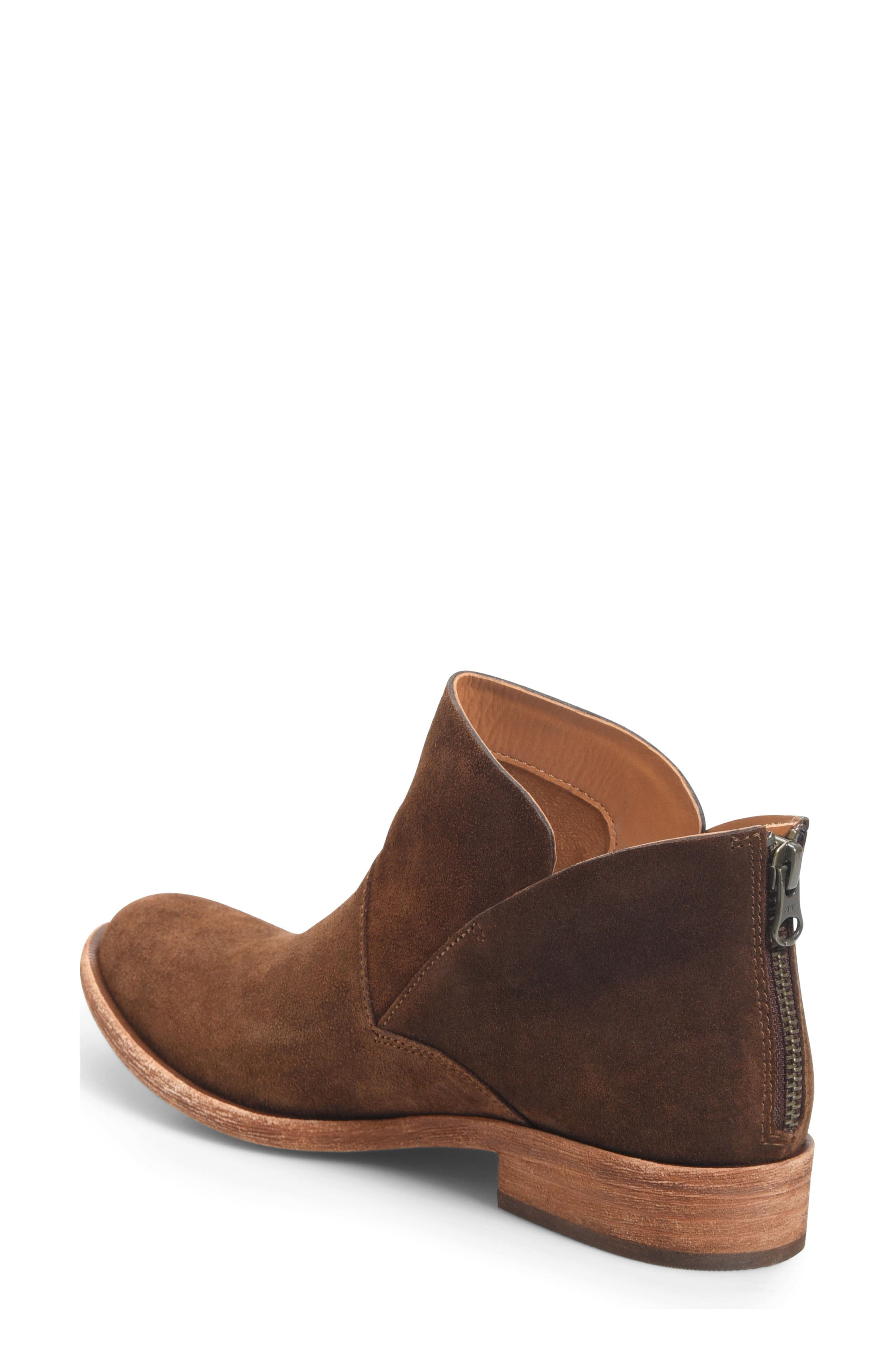 Ryder Ankle Boot,                             Alternate thumbnail 2, color,                             Rust Suede