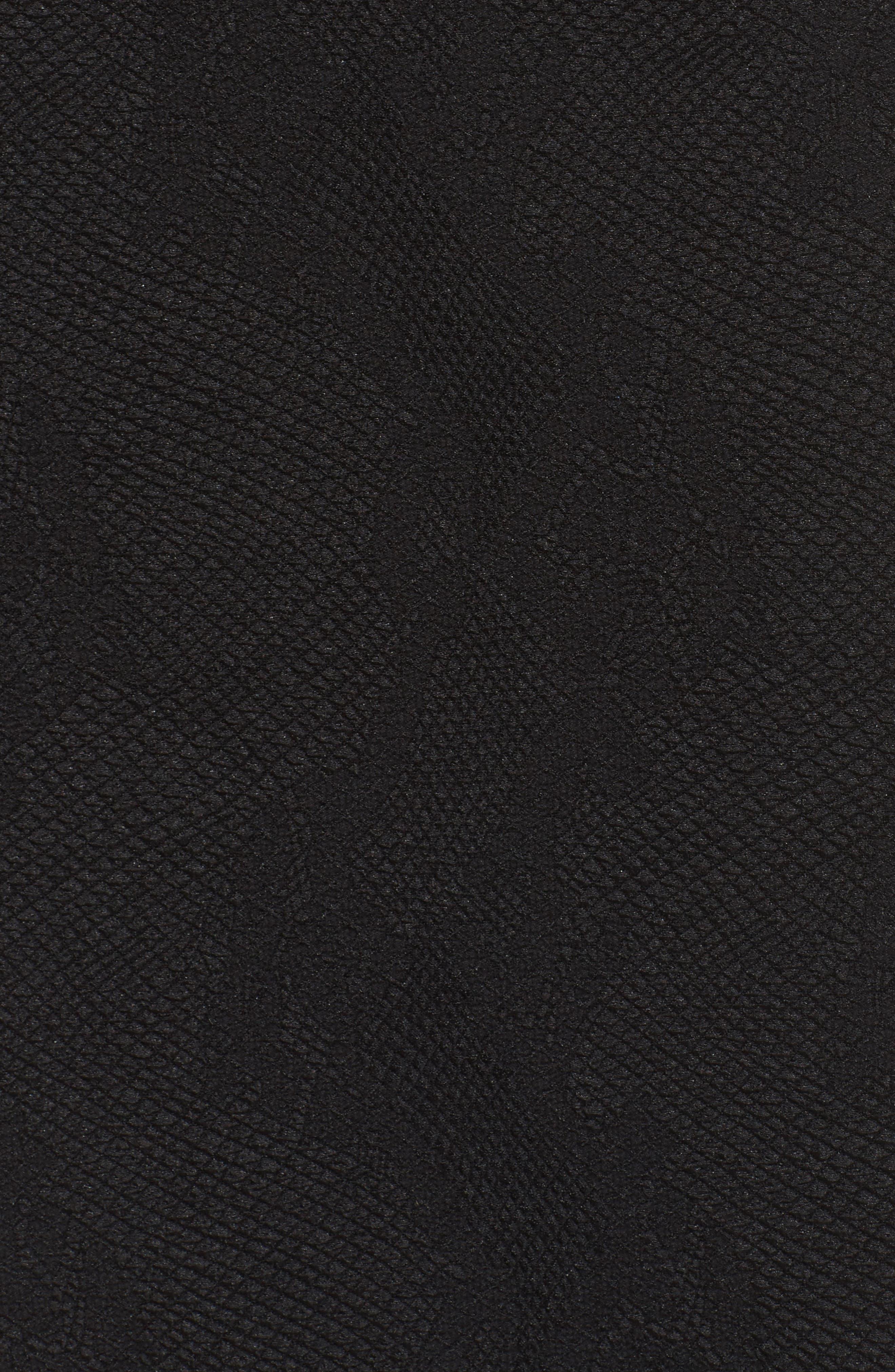 Alternate Image 5  - Tadashi Shoji Sequin Embroidered Textured Crepe Gown (Regular & Petite)