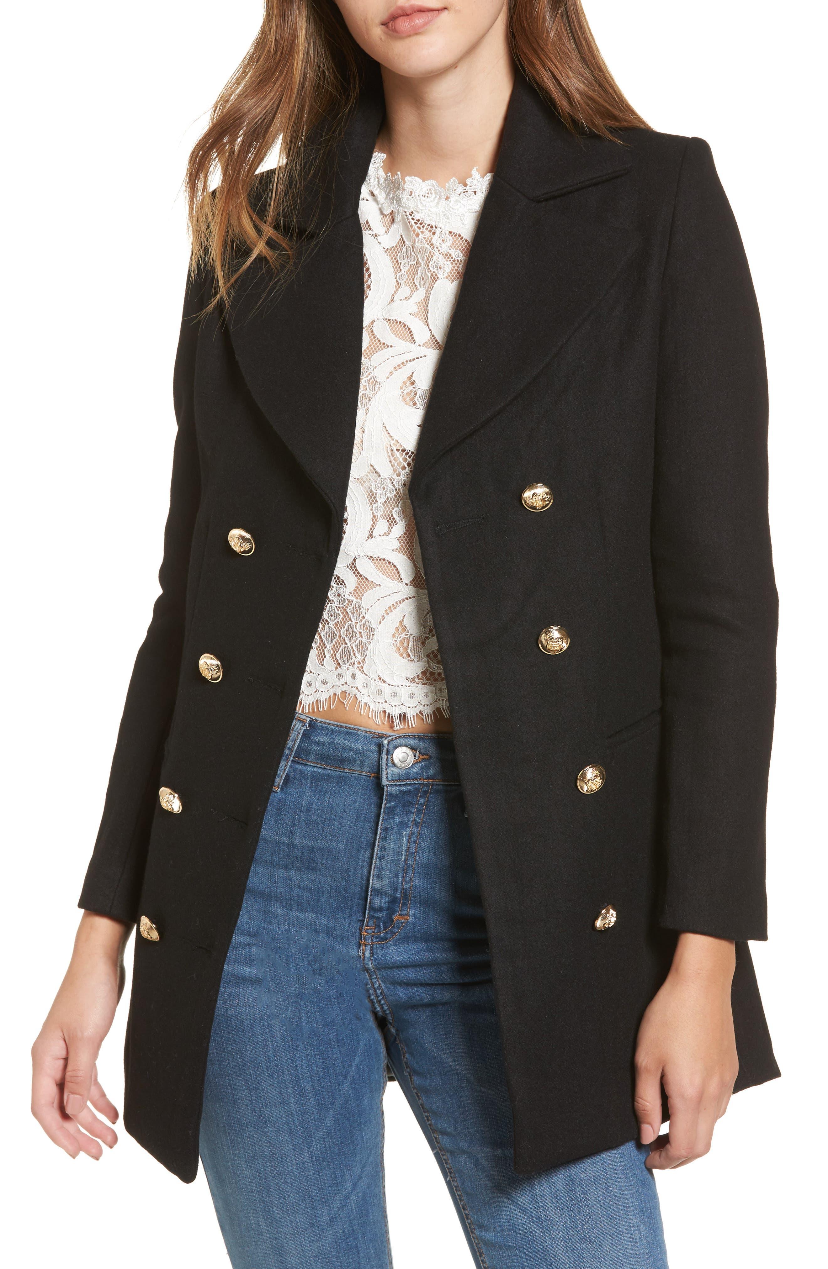 Bad Romance Blazer Jacket,                         Main,                         color, Black