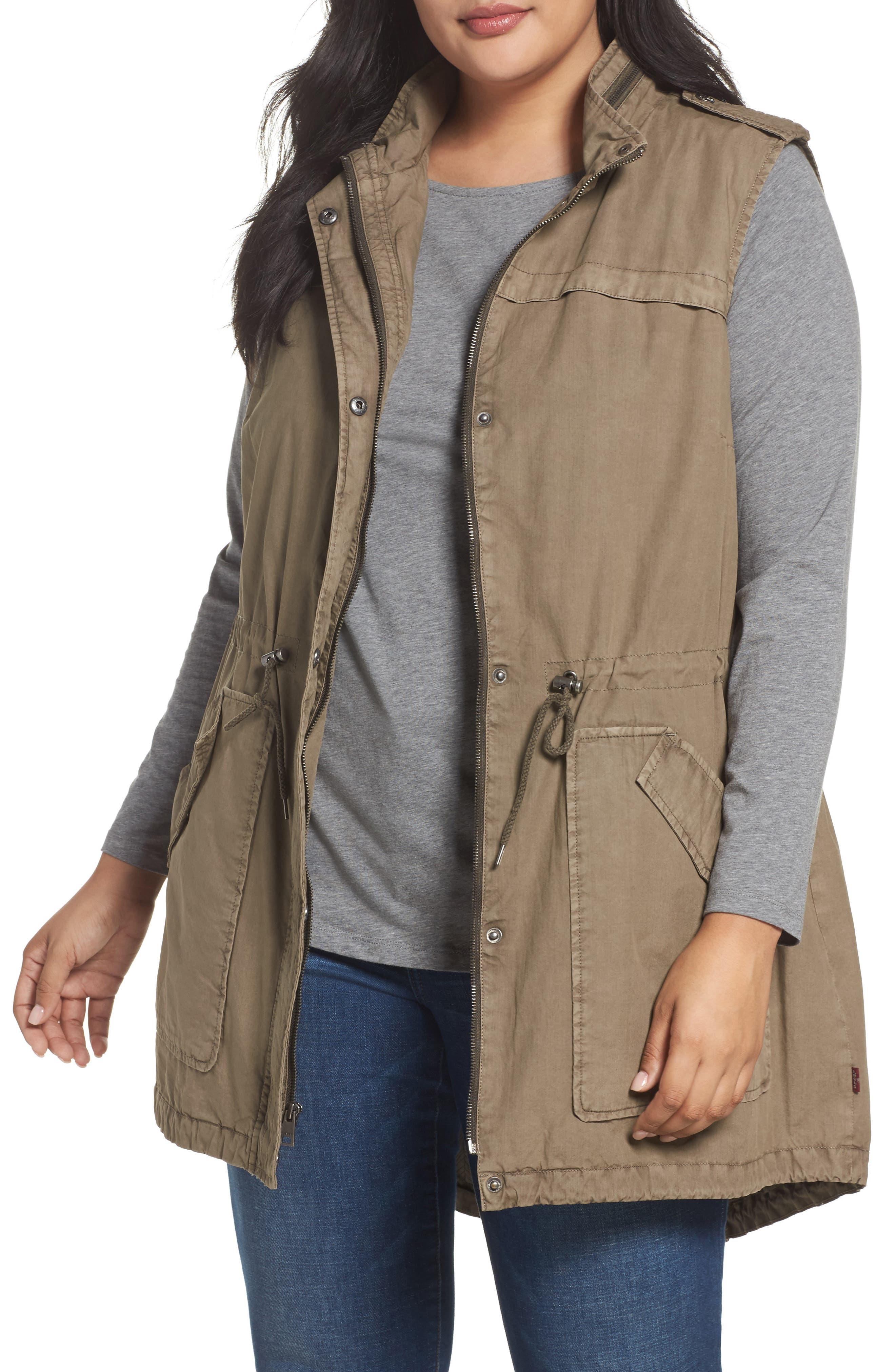 Levi's® Parachute Cotton Vest (Plus Size)