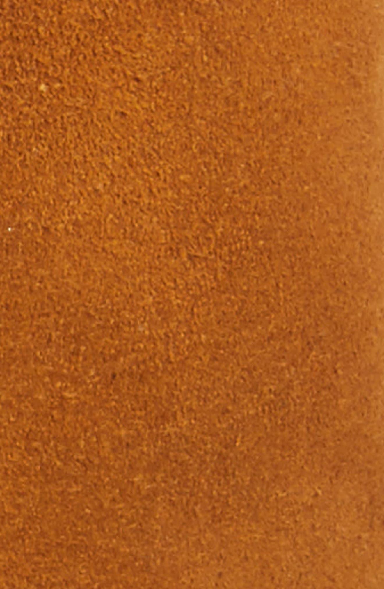 Casablanca Leather Corset Belt,                             Alternate thumbnail 2, color,                             Cognac/ Black