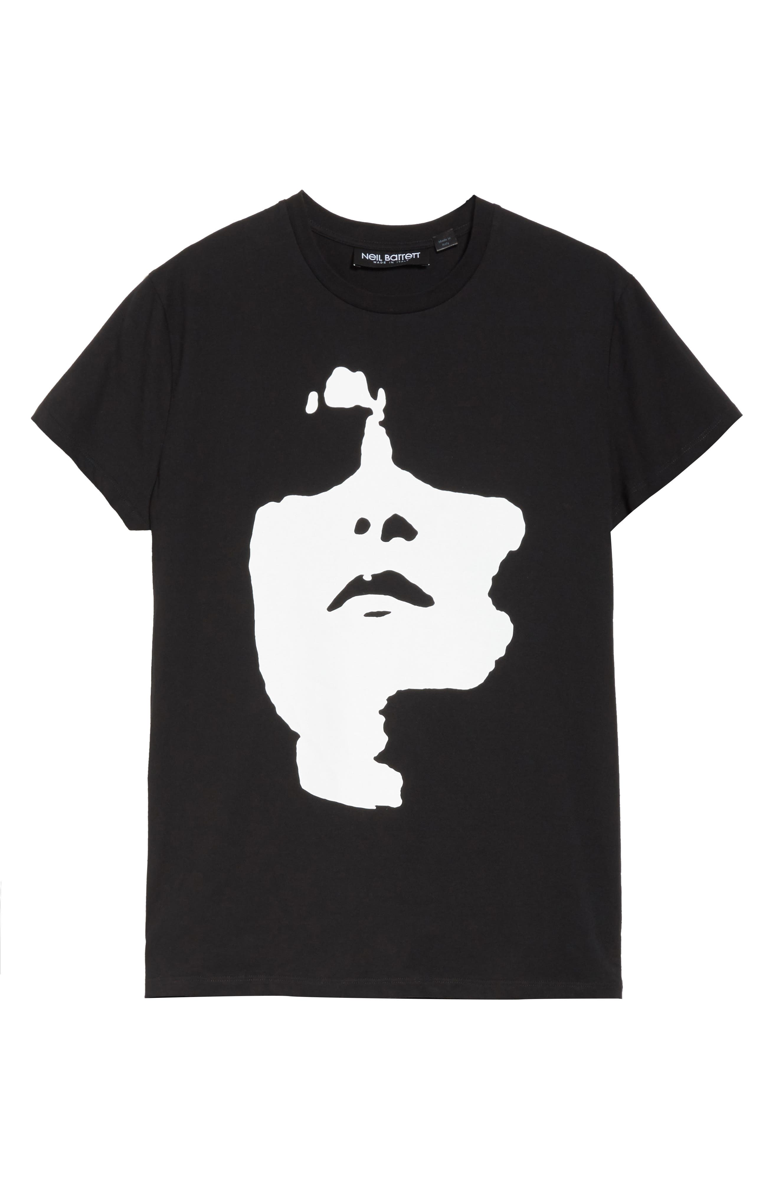 Alternate Image 6  - Neil Barrett Siouxsie Face Graphic T-Shirt