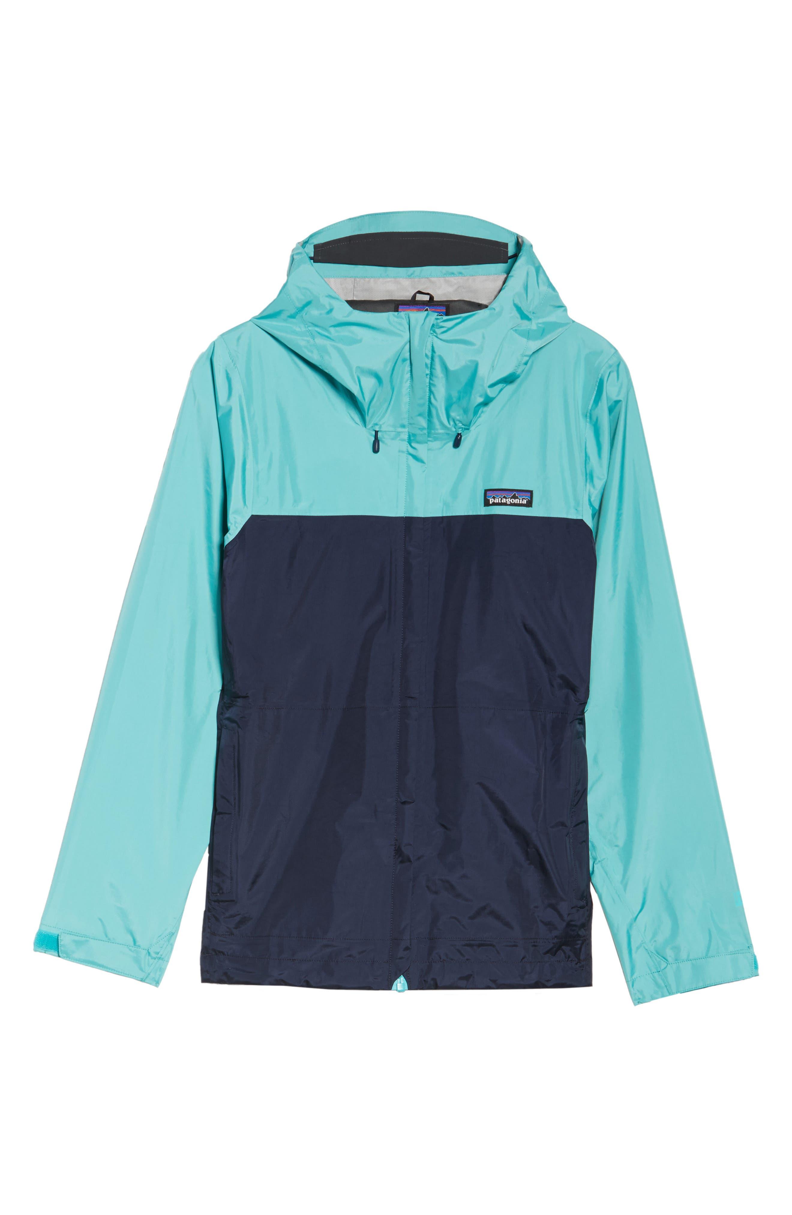 Torrentshell Jacket,                             Alternate thumbnail 7, color,                             Navy Blue/ Strait Blue