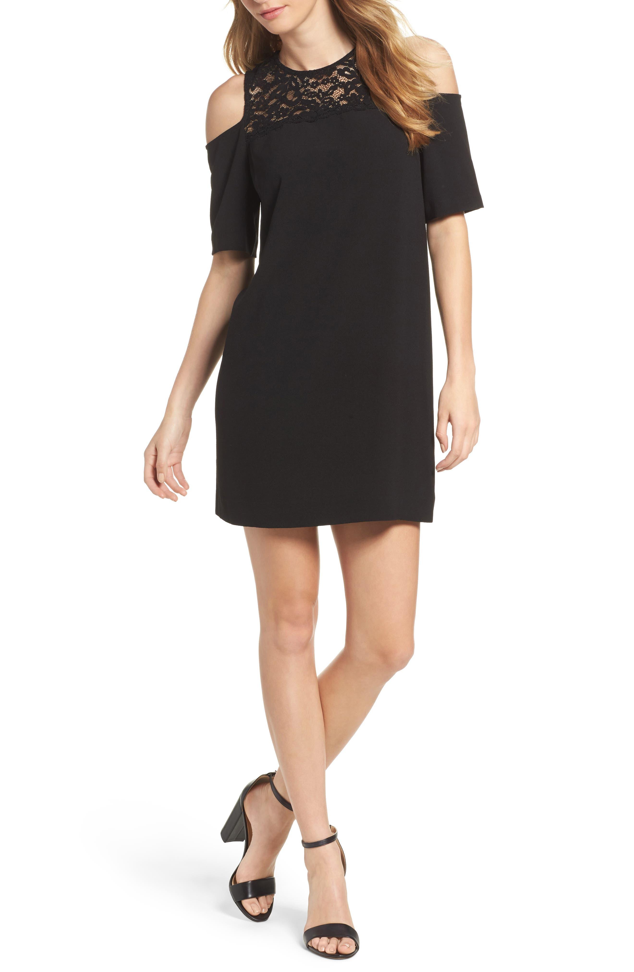 Felicity & Coco Cold Shoulder Lace Dress