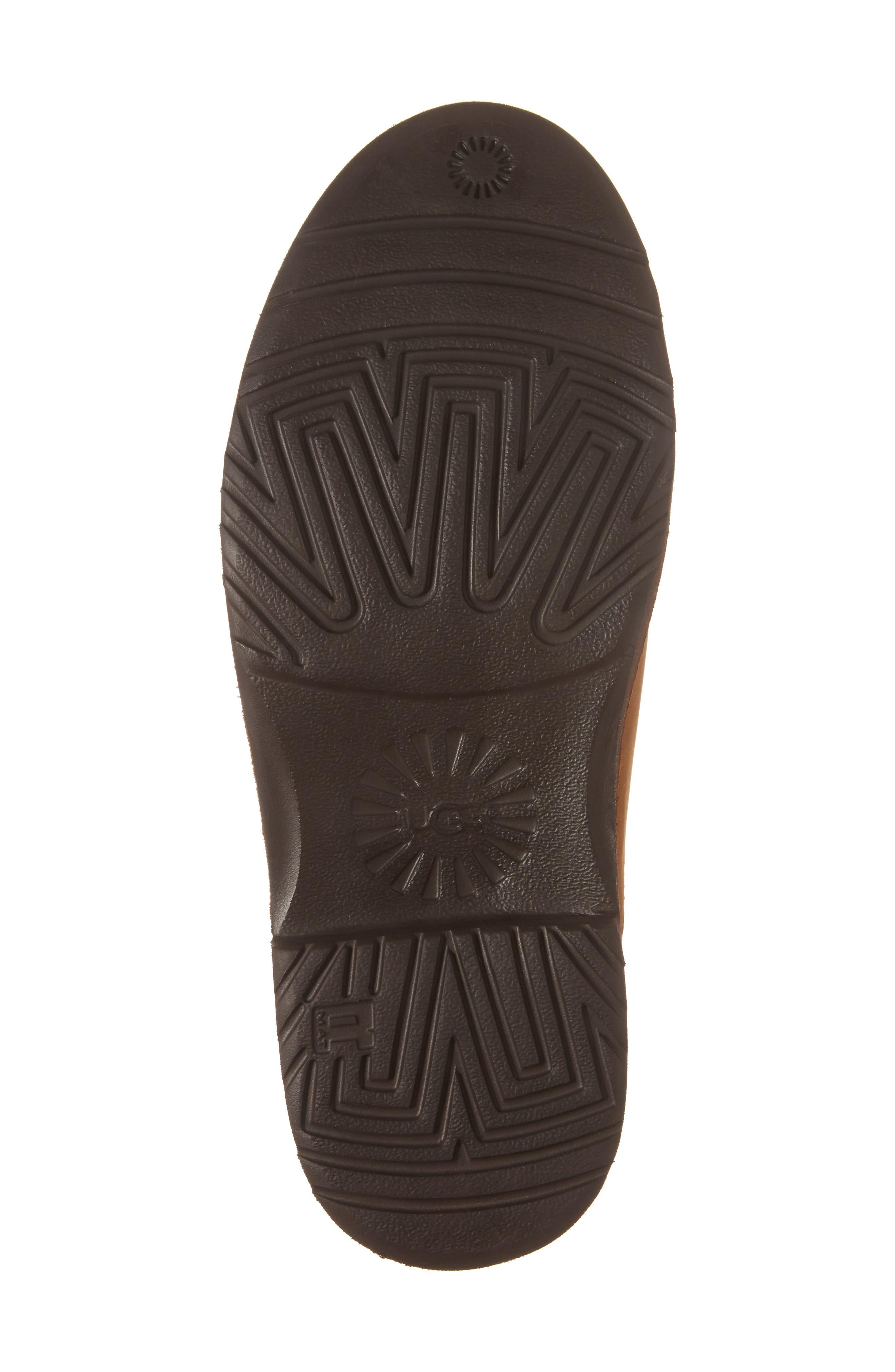 Larra Boot,                             Alternate thumbnail 6, color,                             Chestnut Nubuck Leather