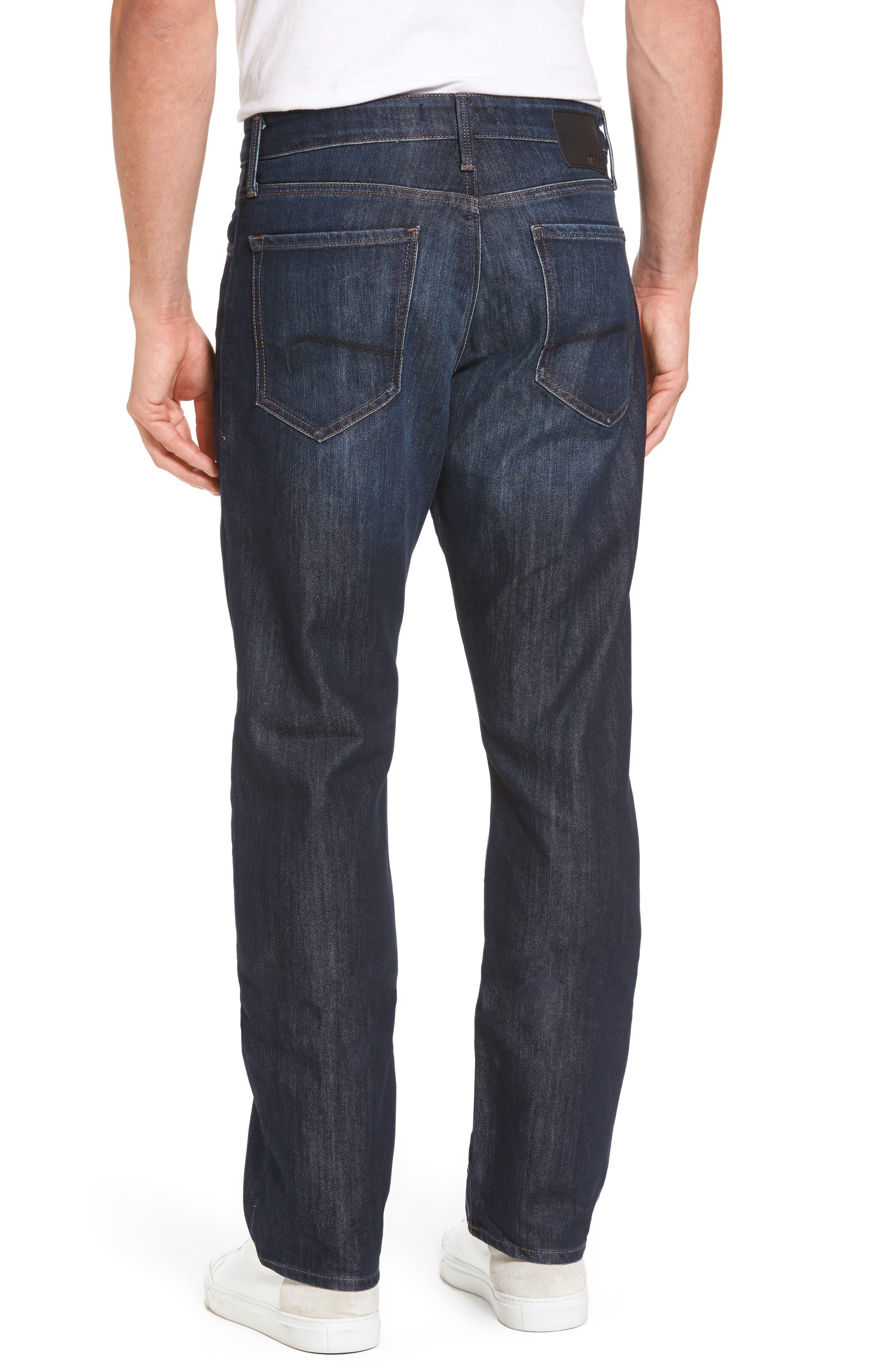 Matt Relaxed Fit Jeans,                             Alternate thumbnail 2, color,                             Dark Stanford
