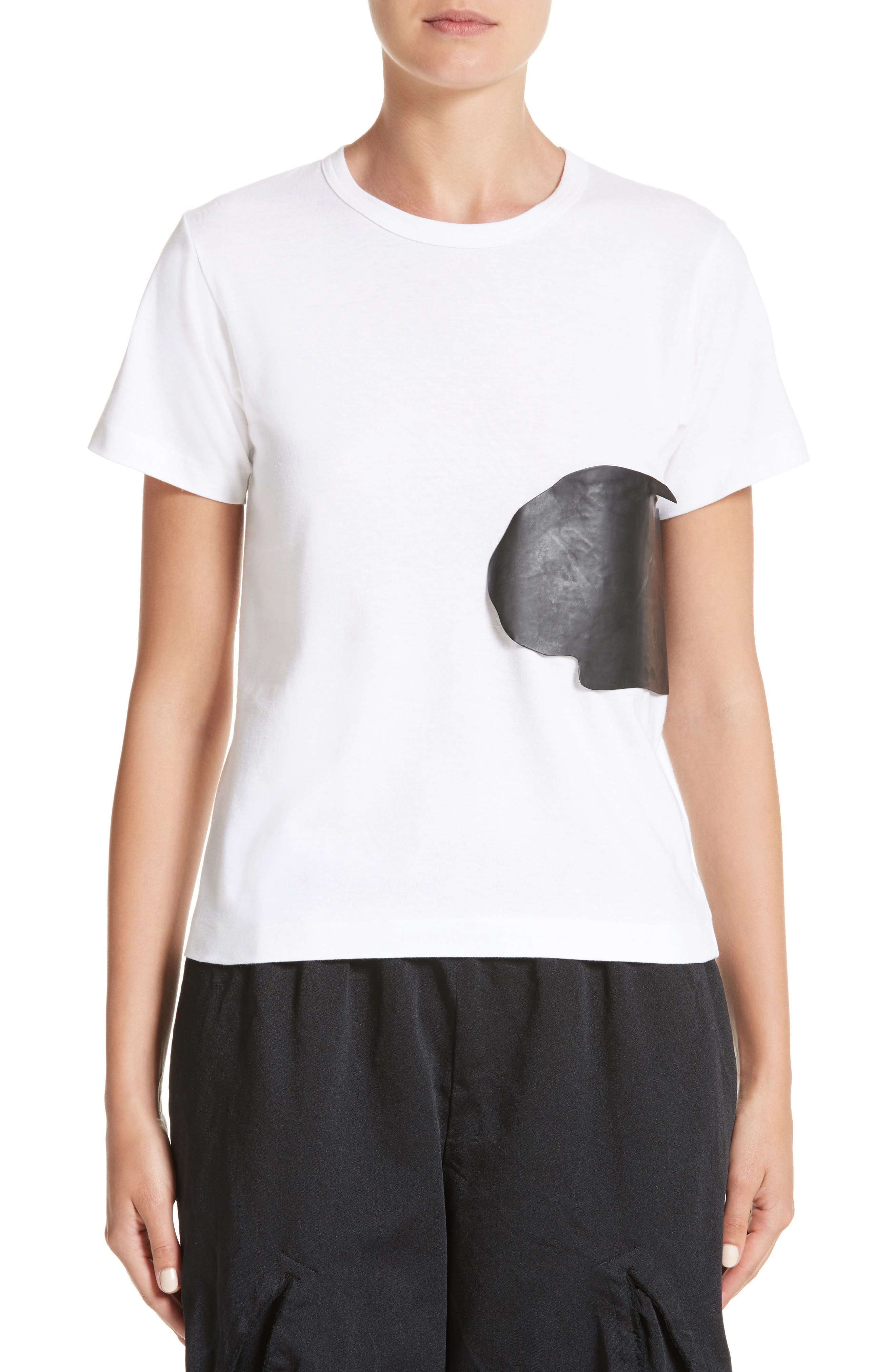 Alternate Image 1 Selected - Comme des Garçons Rubber Graphic Tee