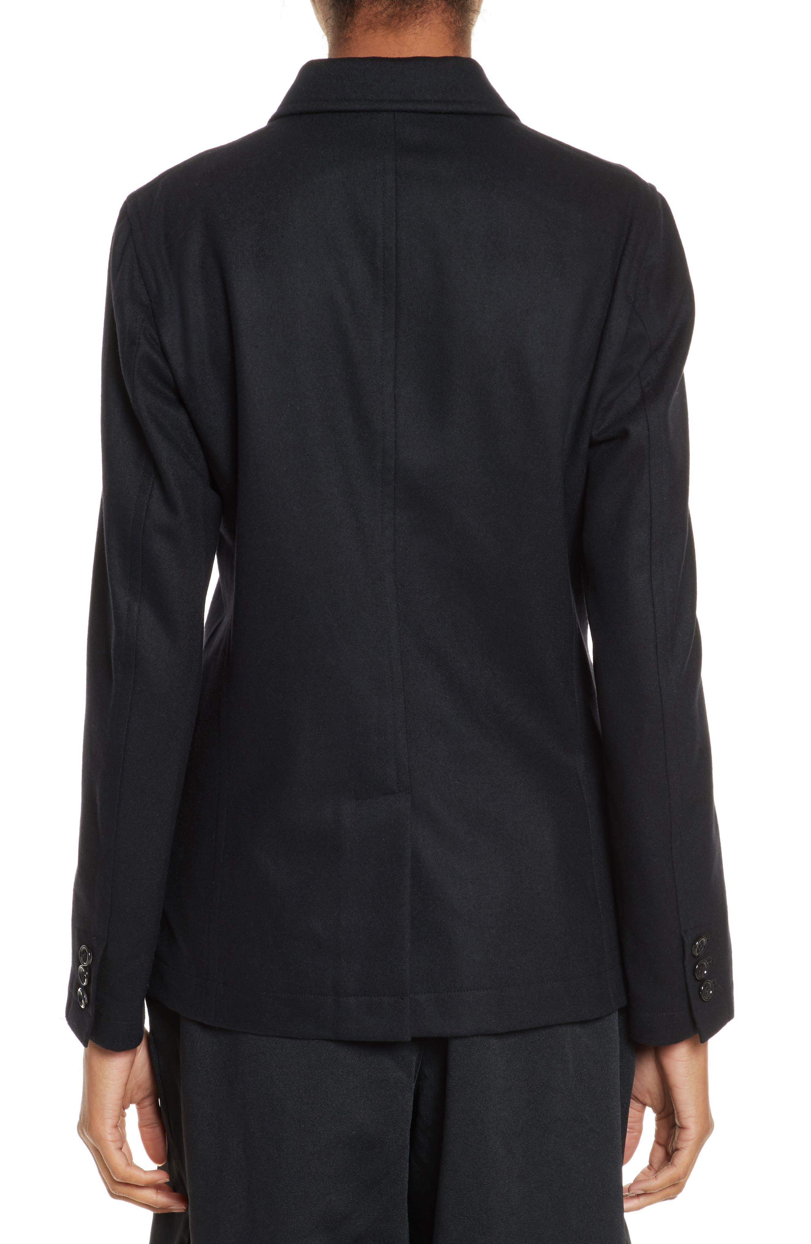 Alternate Image 2  - Comme des Garçons Zip Detail Wool Jacket