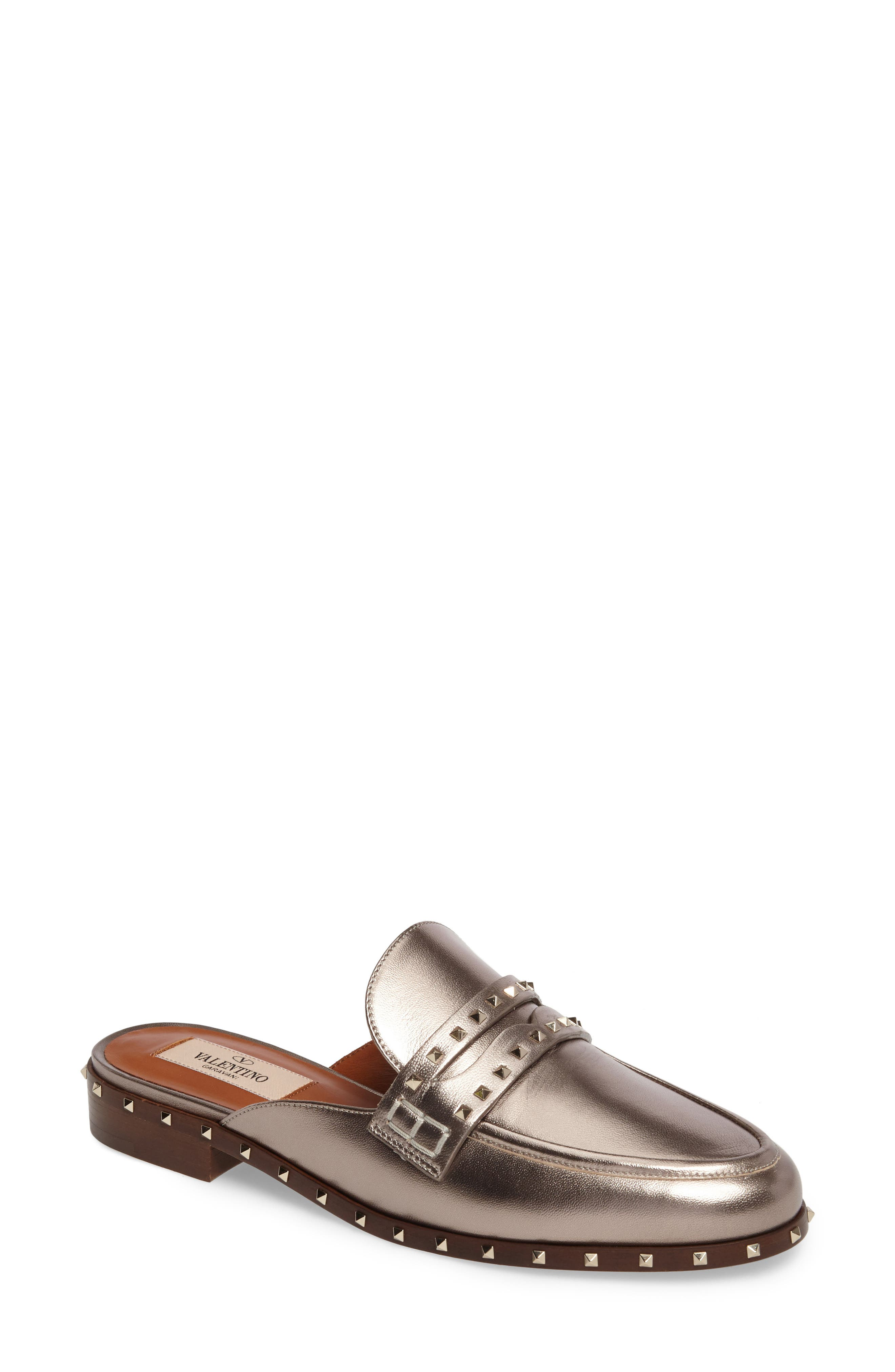 Alternate Image 1 Selected - Valentino Soul Rockstud Mule (Women)