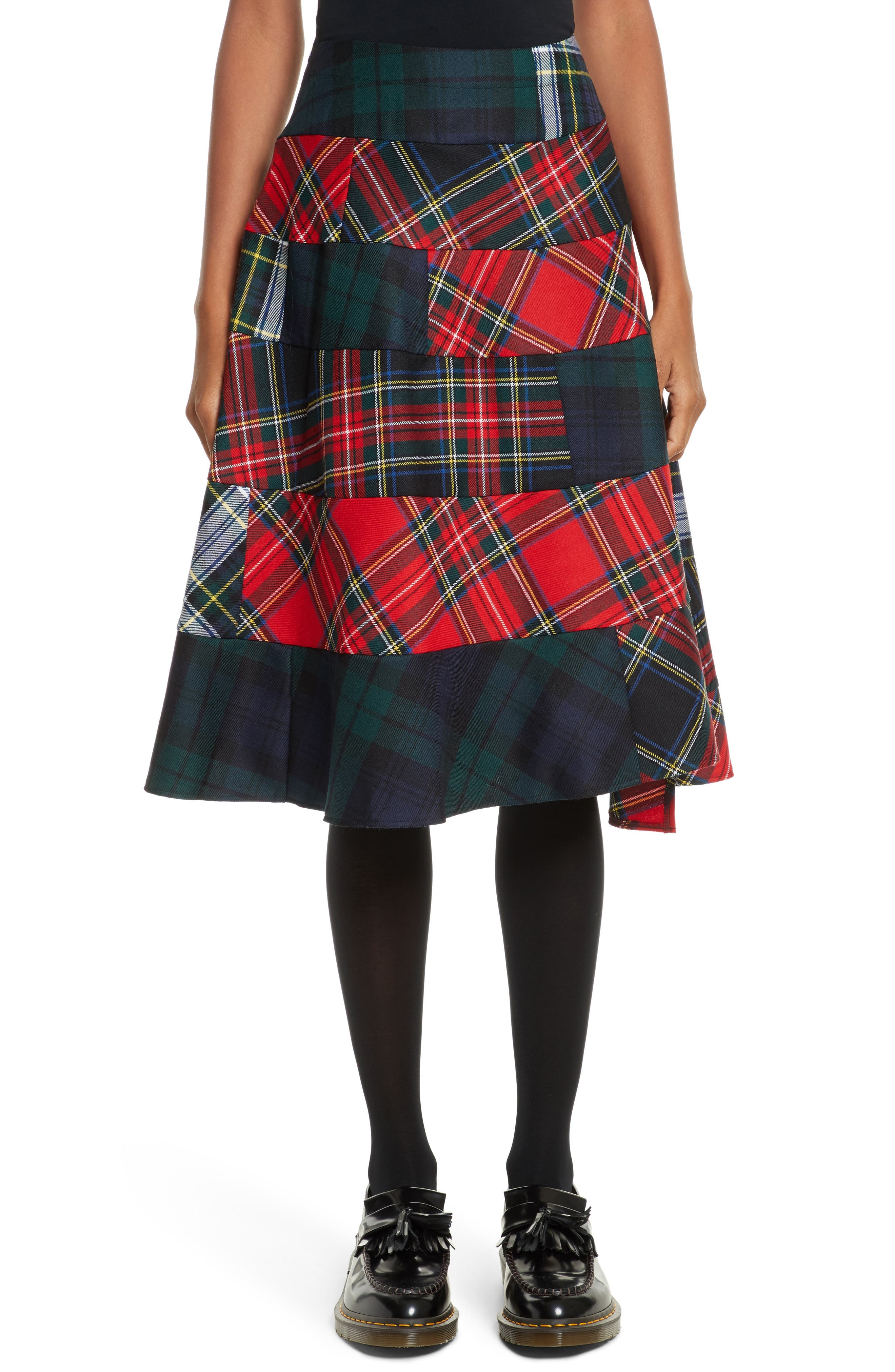 Tricot Comme des Garçons Tartan Plaid Skirt