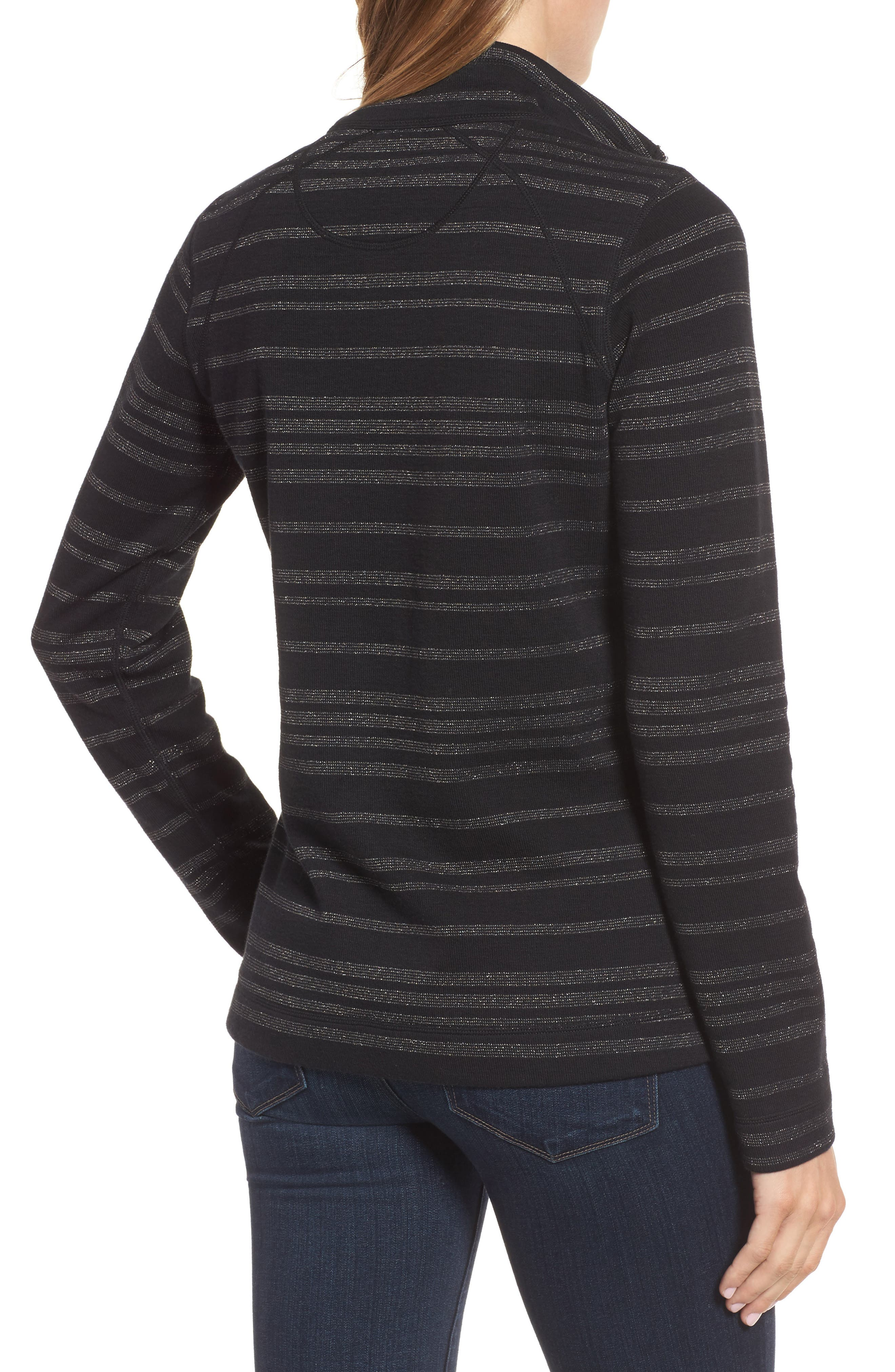 Alternate Image 2  - Tommy Bahama Aruba Shazam Stripe Half-Zip Pullover