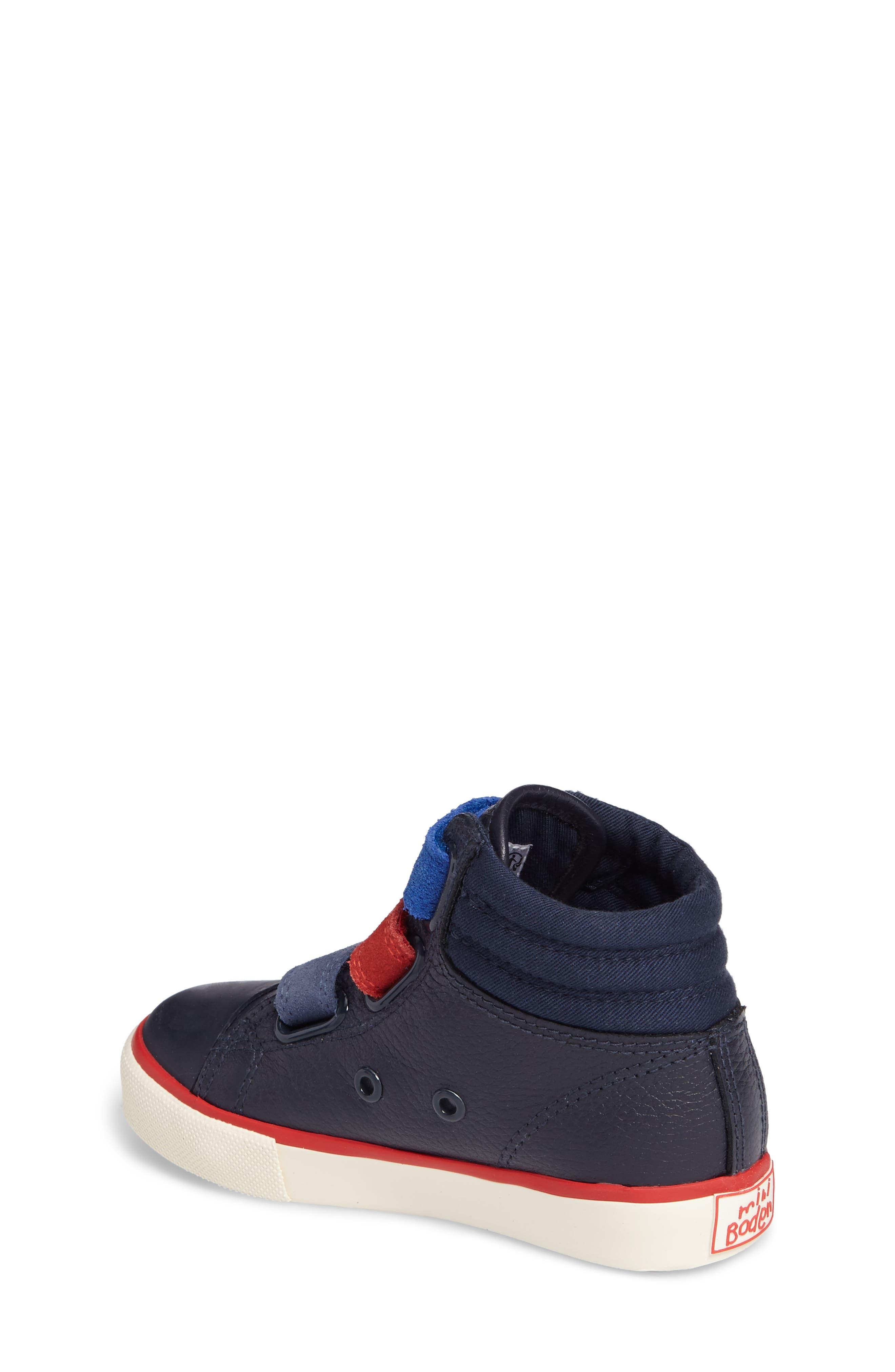 High Top Sneaker,                             Alternate thumbnail 2, color,                             Navy