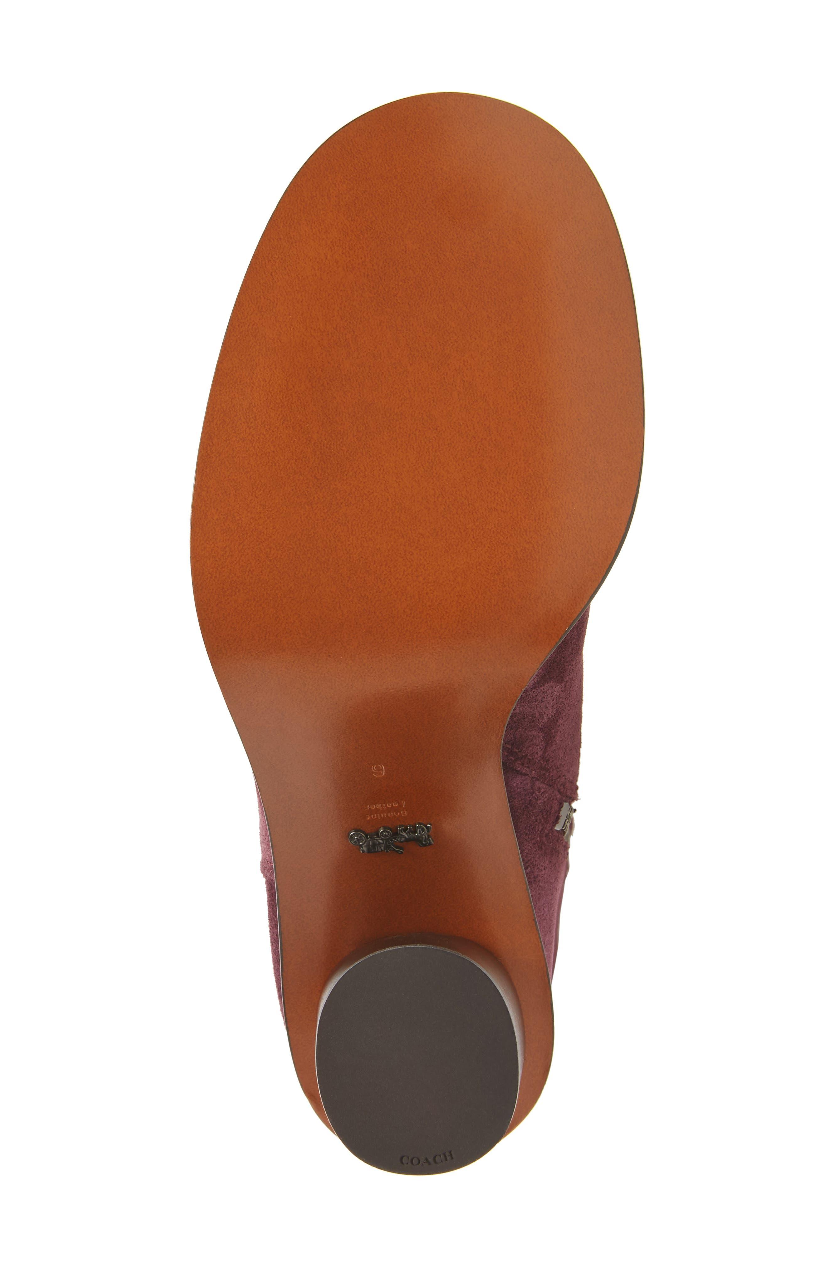 Alternate Image 6  - COACH Ombré Knee High Boot (Women)