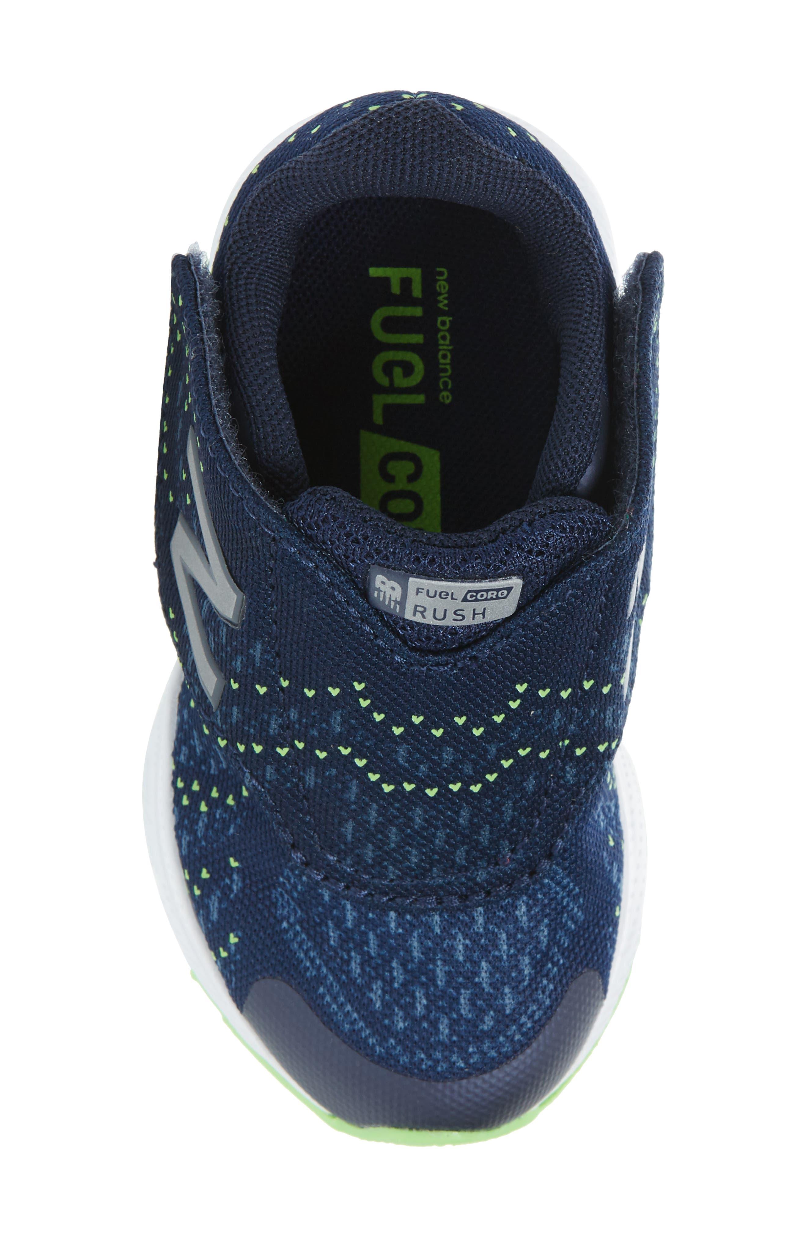 FuelCore Rush v3 Sneaker,                             Alternate thumbnail 5, color,                             Navy