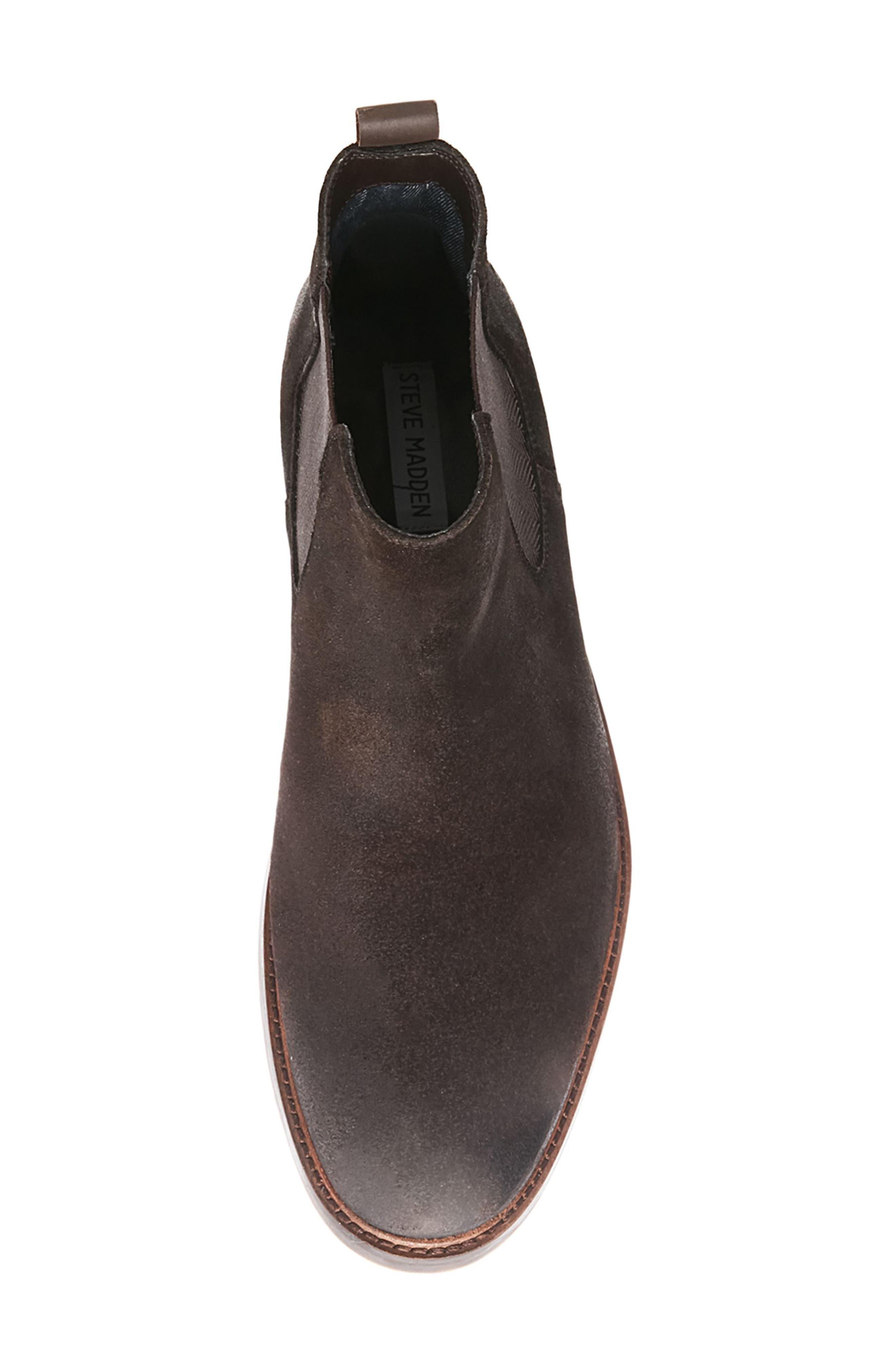 Alternate Image 5  - Steve Madden Teller Chelsea Boot (Men)