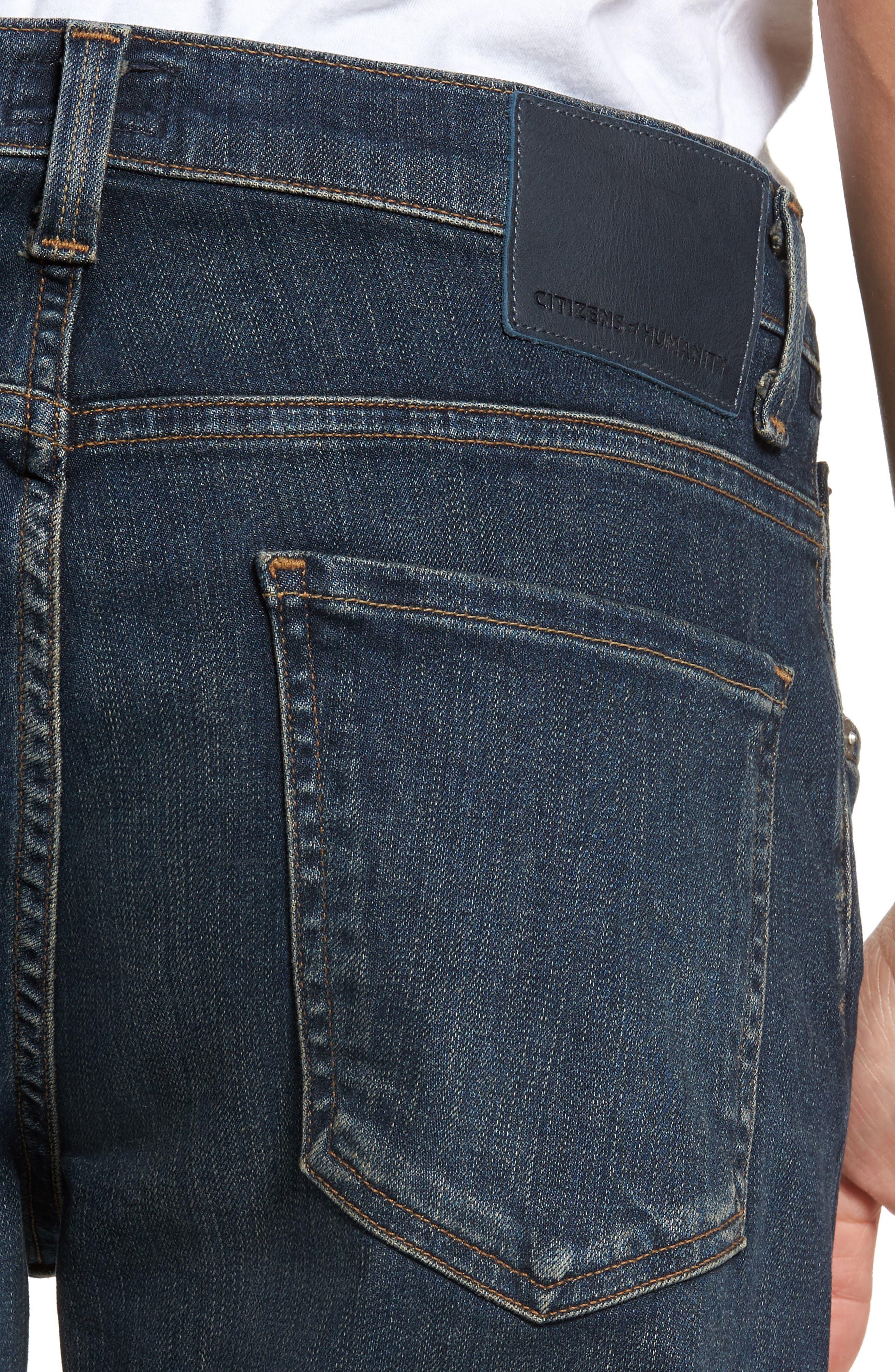 PERFORM - Bowery Slim Fit Jeans,                             Alternate thumbnail 4, color,                             Kingman