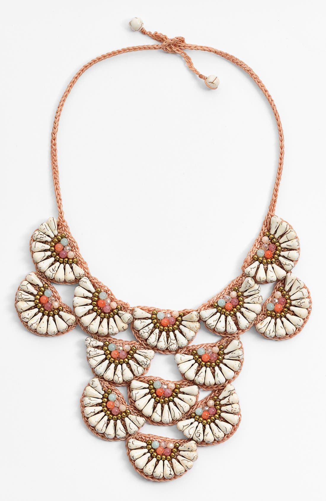 Alternate Image 1 Selected - Panacea Howlite Statement Necklace