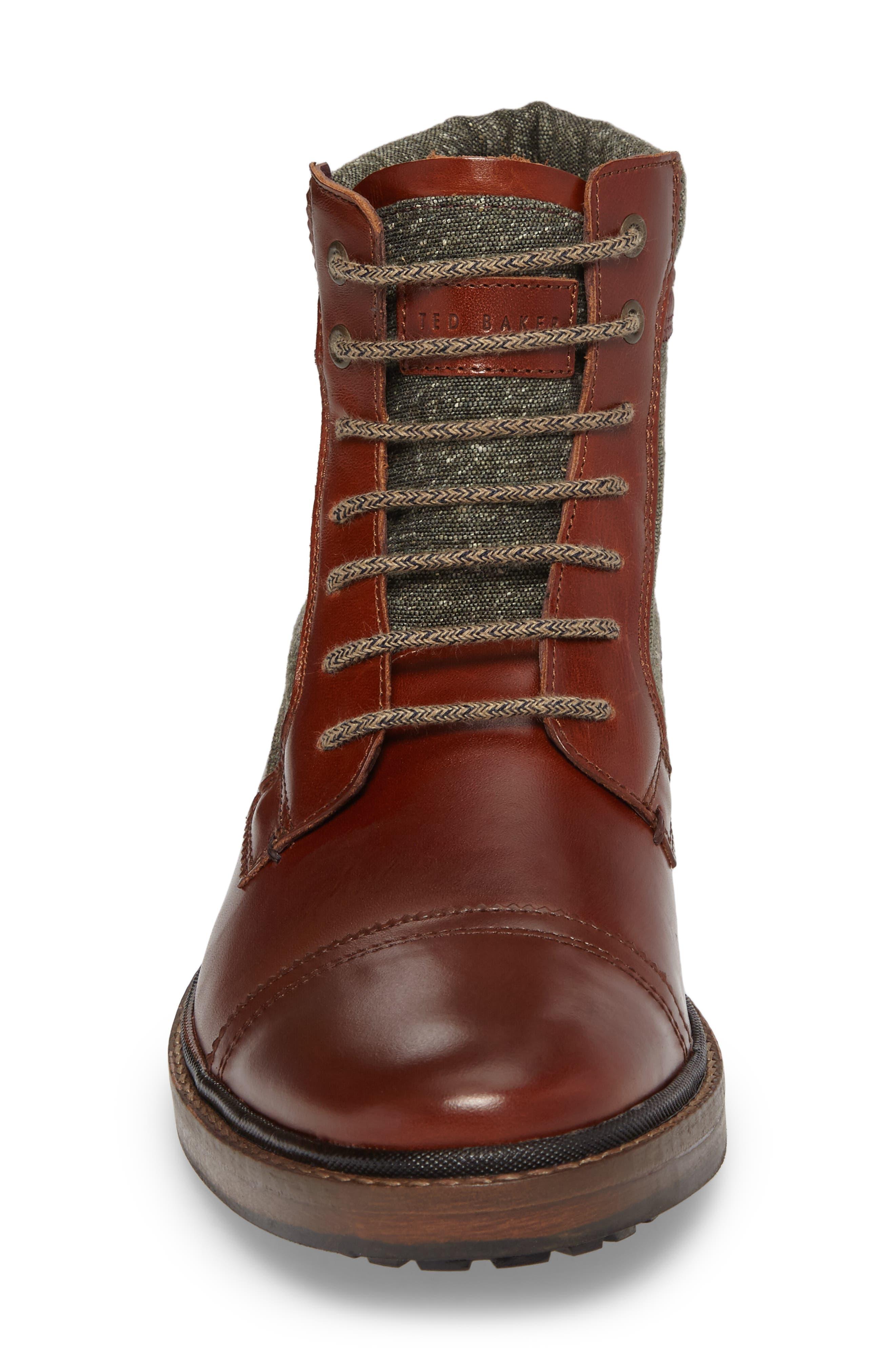 Alternate Image 4  - Ted Baker London Ruulen Cap Toe Boot (Men)
