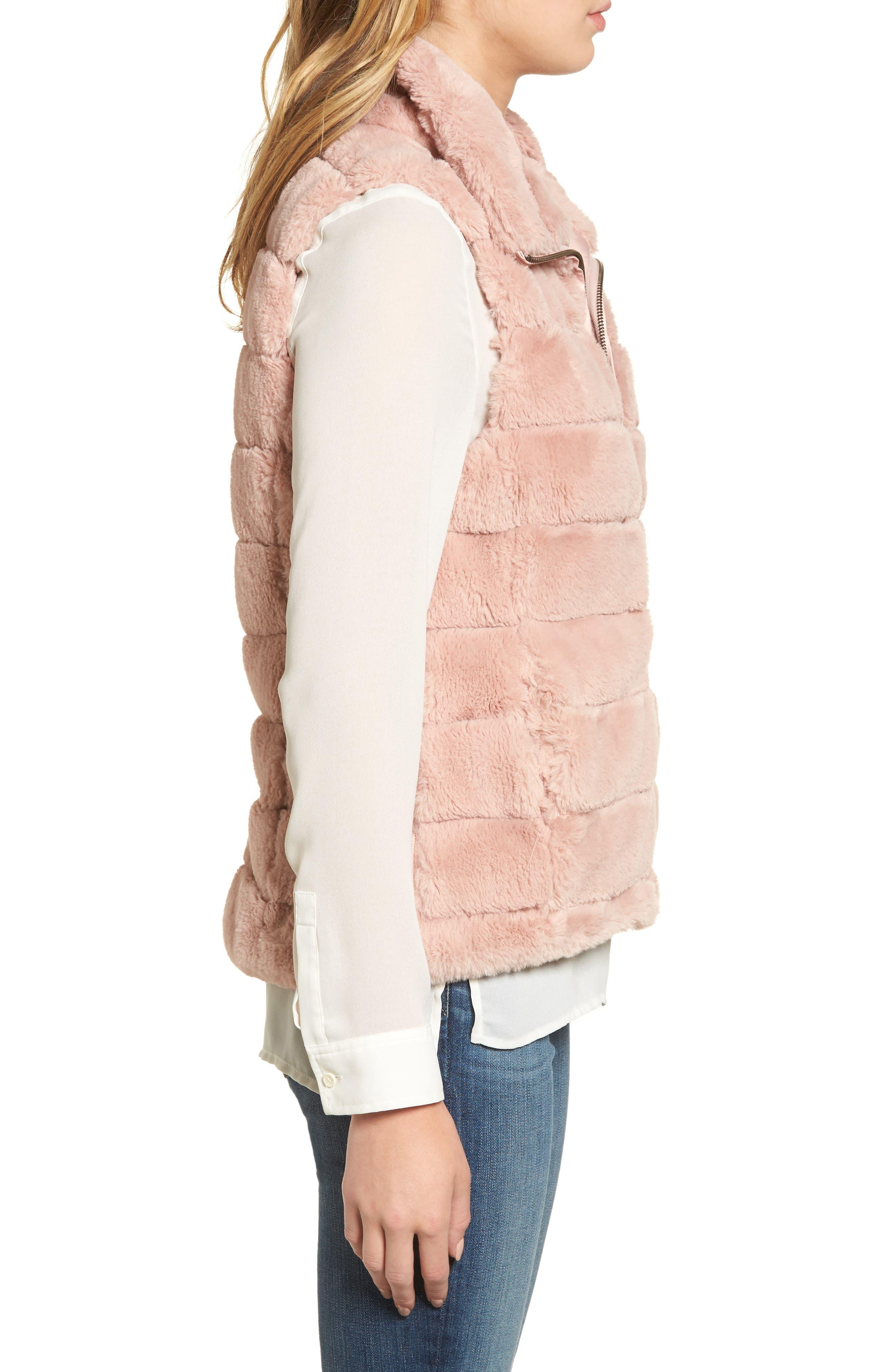 Alternate Image 3  - Dylan Love Faux Fur Vest
